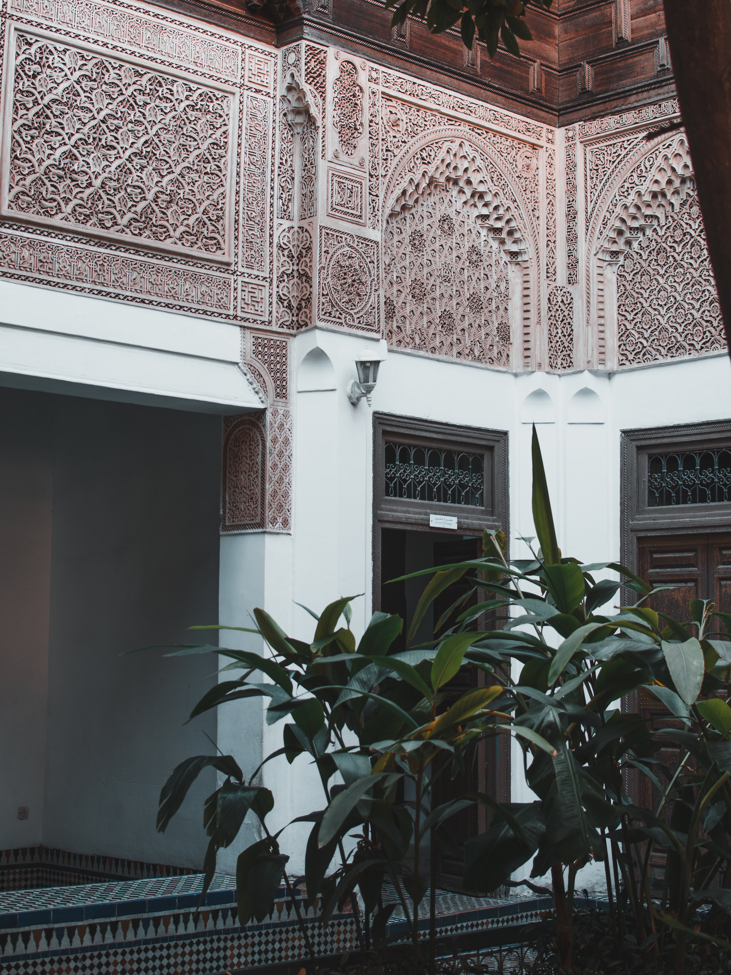 Spend some time exploring the Bahia Palace in Marrakech