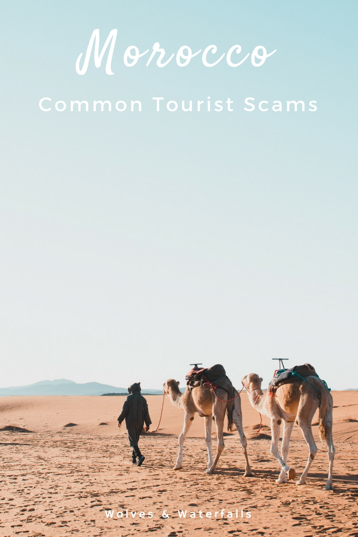 Watch out for these common scams in Morocco