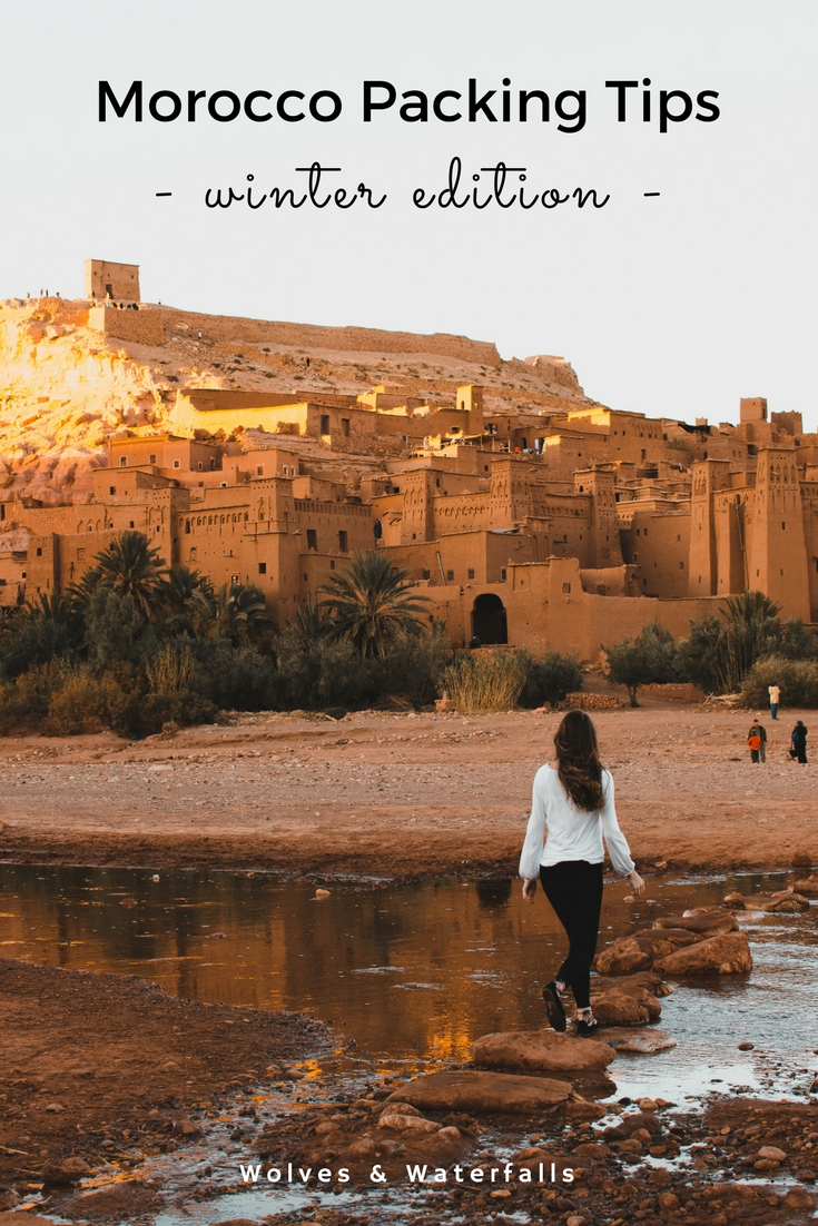 Packing tips for visiting Morocco during the winter