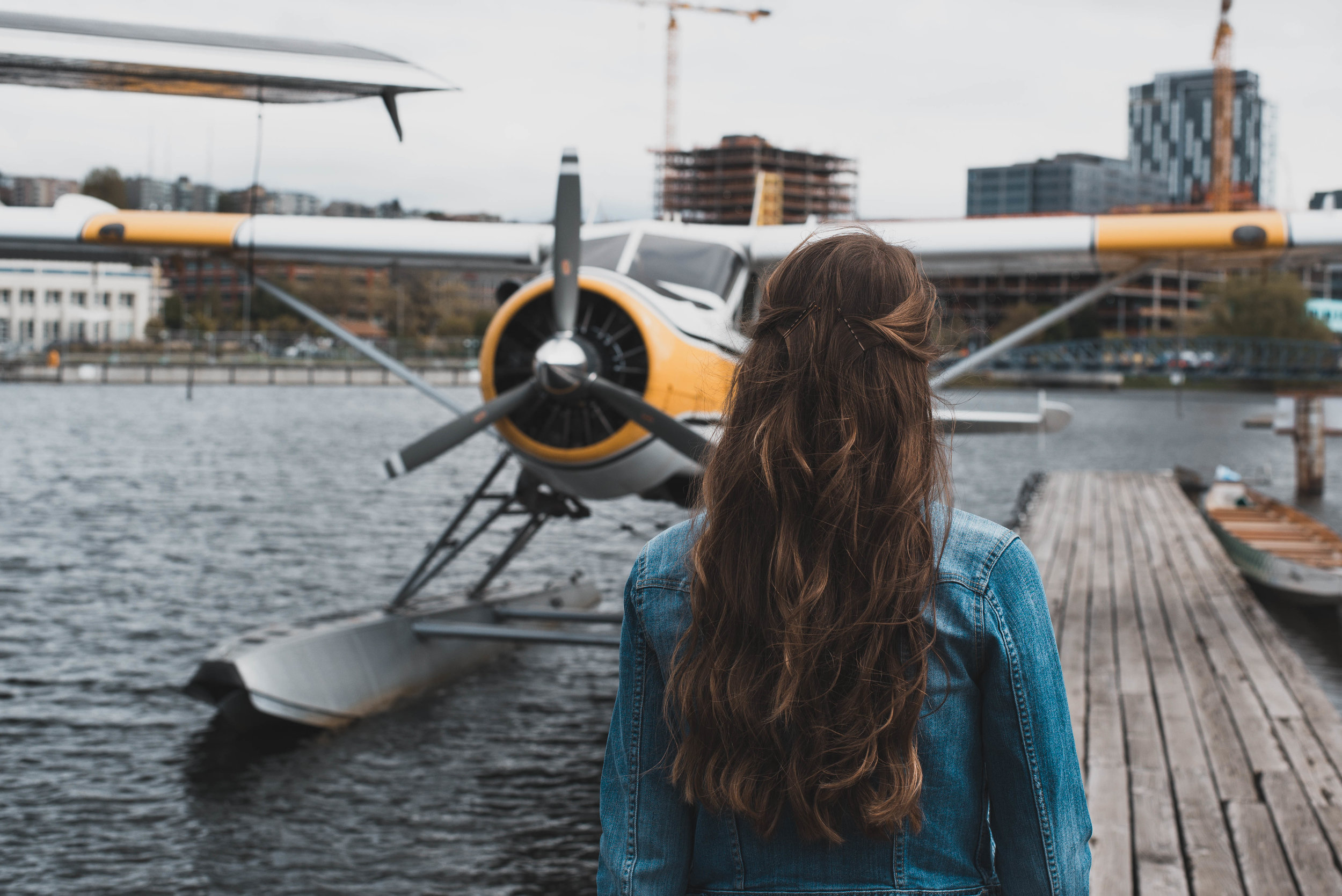 Visiting Victoria was the perfect excuse to ride in a seaplane!