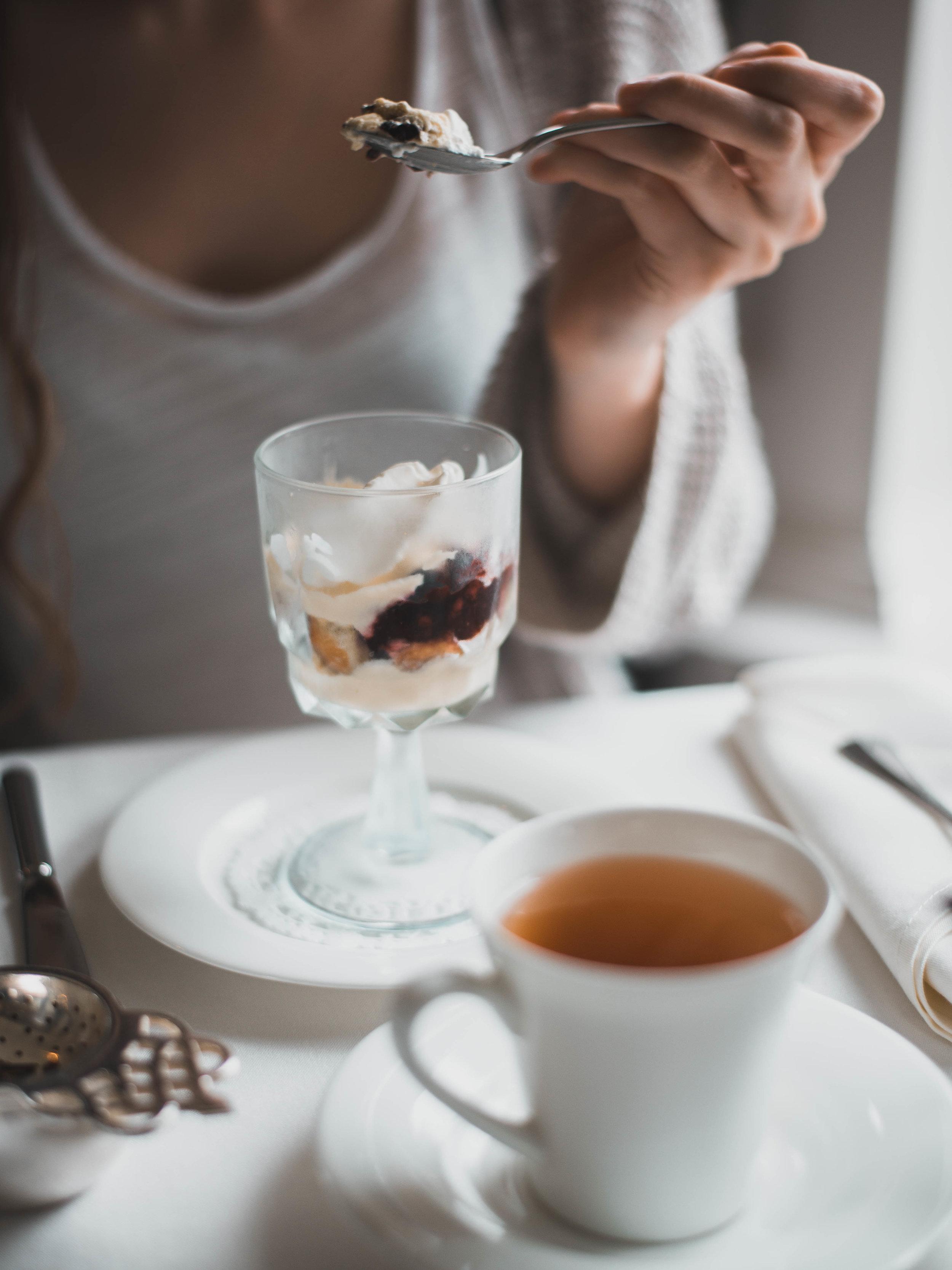 Tea and treats at Victoria's Butchart Gardens