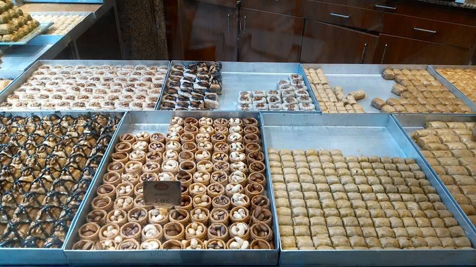 Endless flavors of Baklava in Istanbul