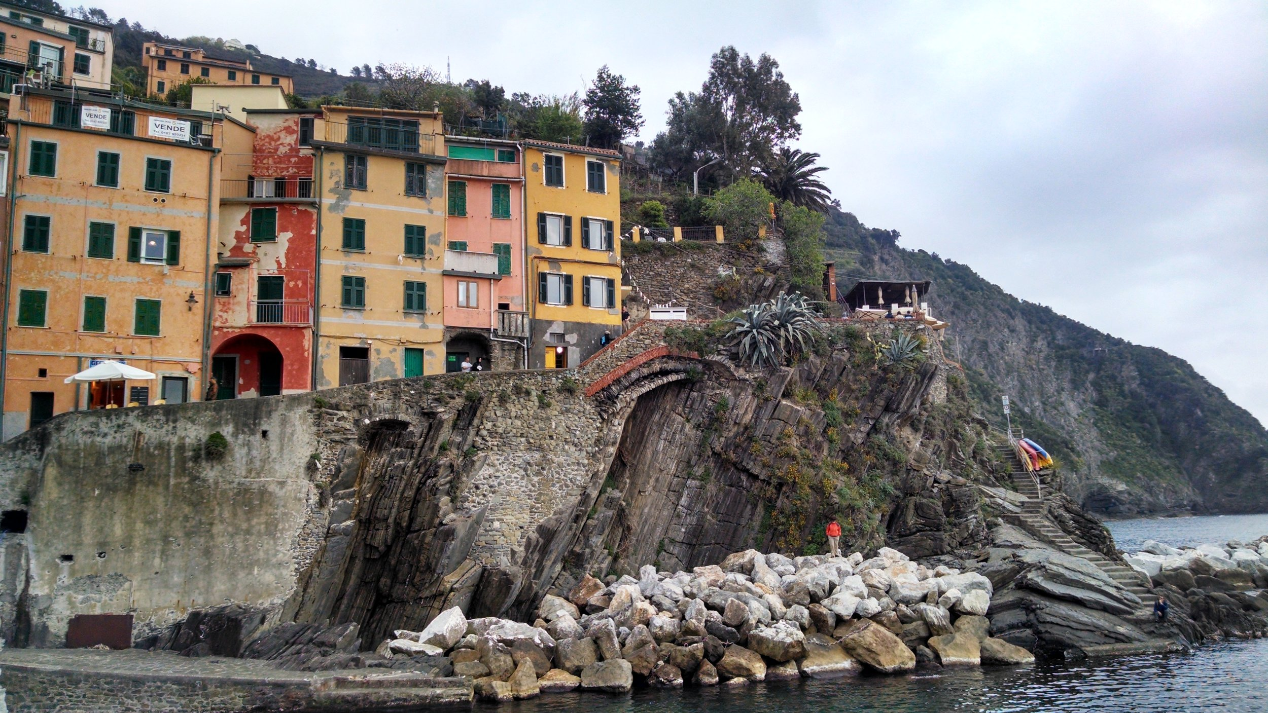Spent a weekend hiking the Cinque Terre - a set of five, colorful fishing villages along the coast