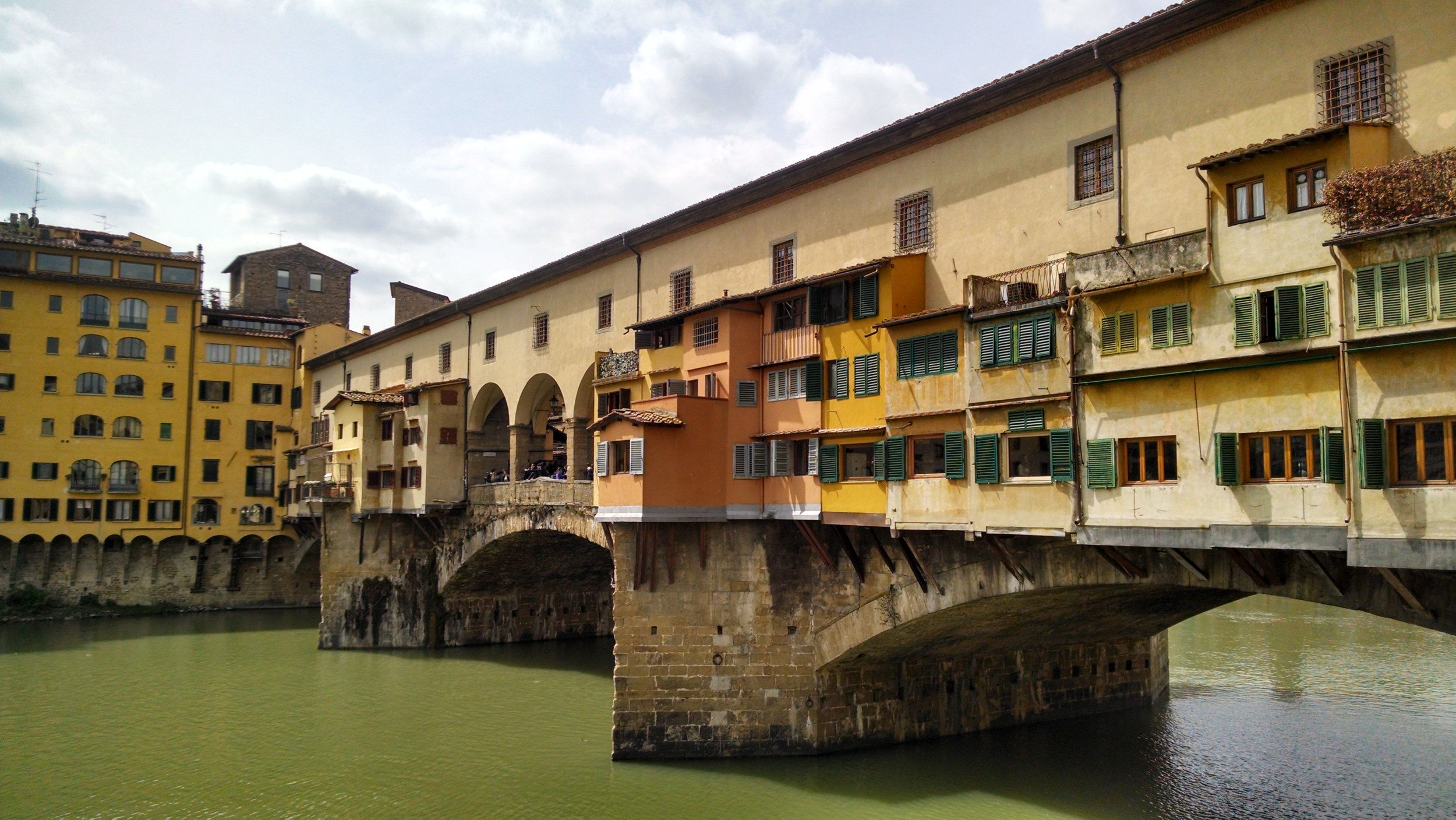 The charming Ponte Vecchio in Florence, Italy