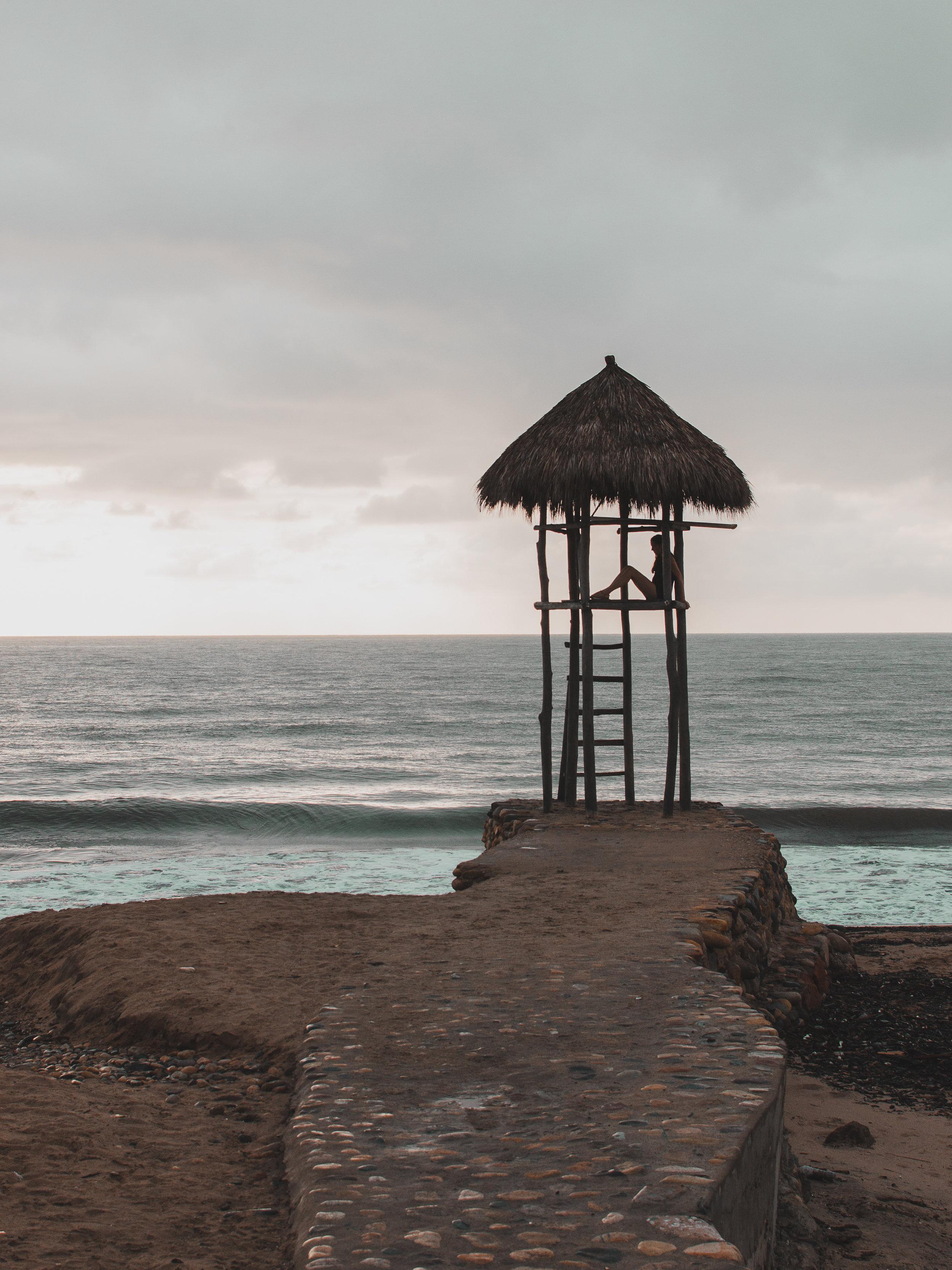 Moody sunset in Puerto Vallarta