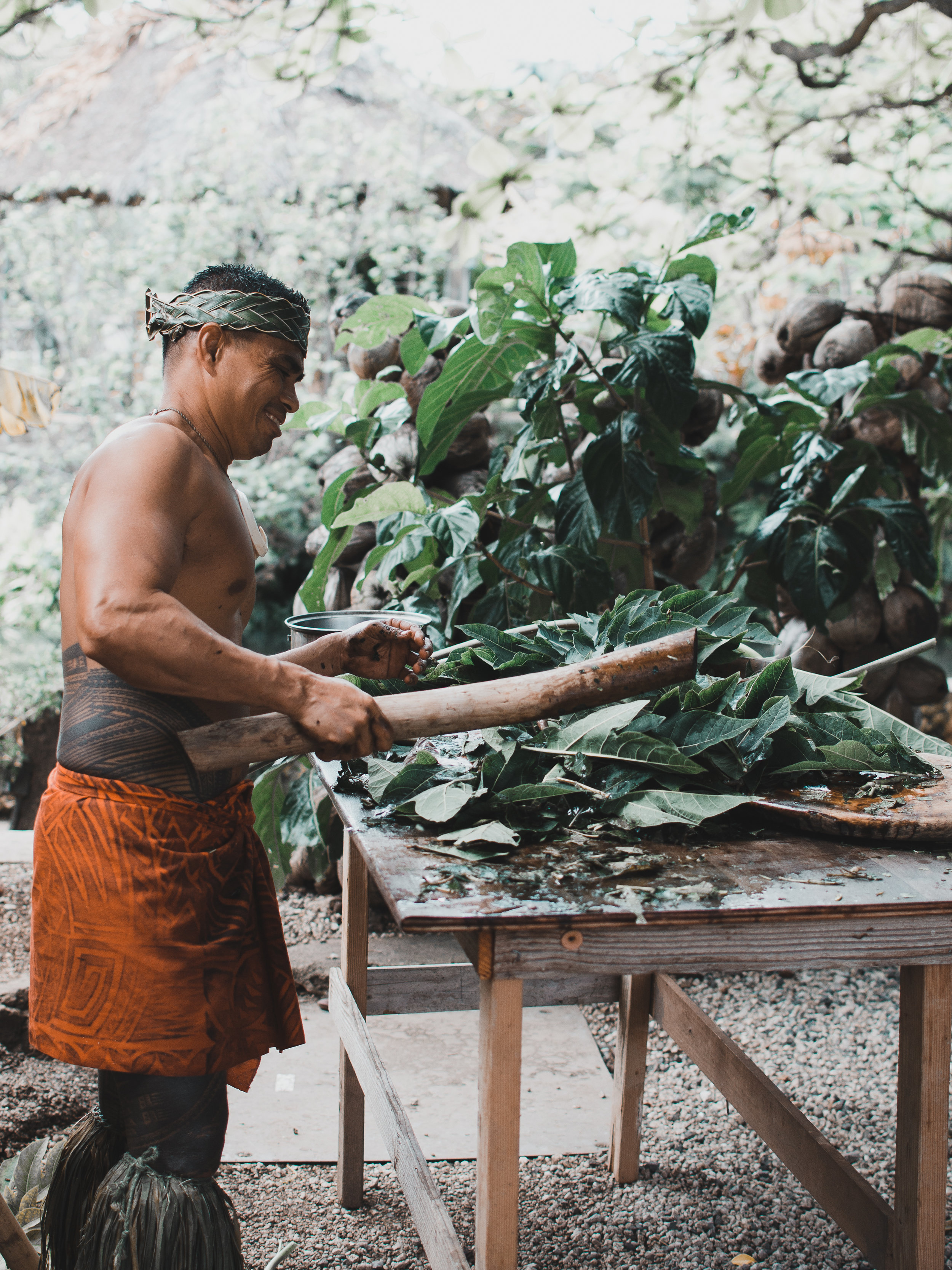 Learned about Polynesian culture on the island of Oahu