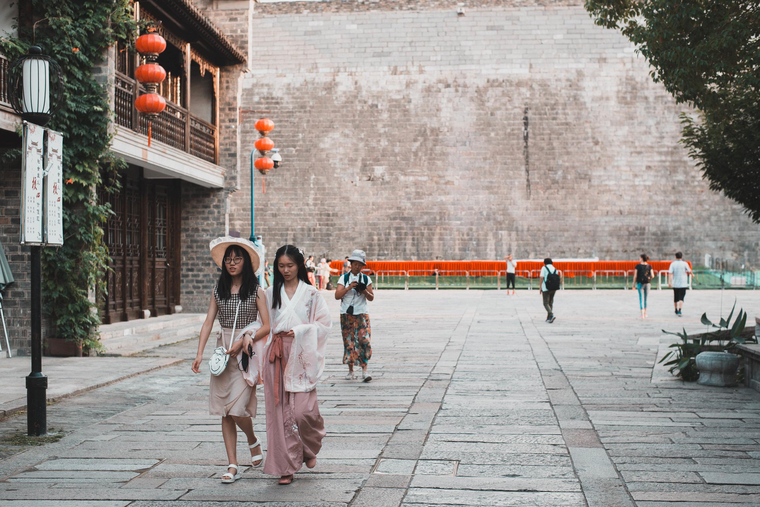 The grand city wall of Nanjing