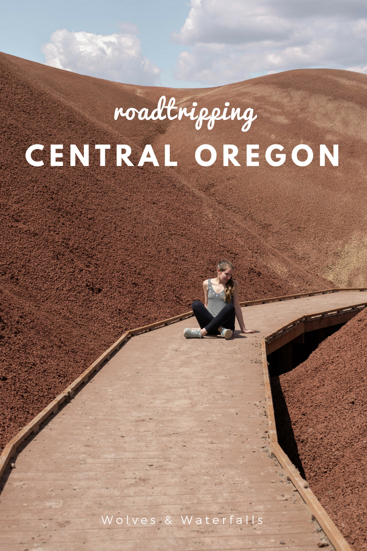 Where to Stop on a Central Oregon Road Trip - Yes, the Painted Hills are a must!