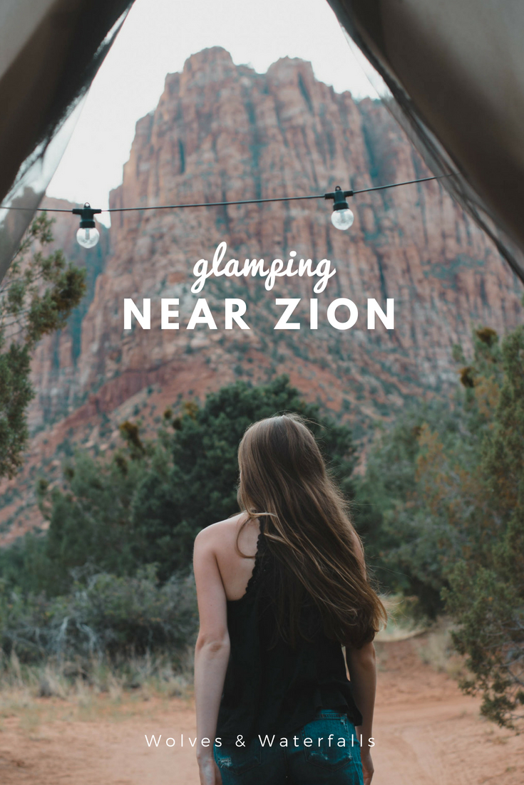 An Epic Glamping Experience Near Zion National Park