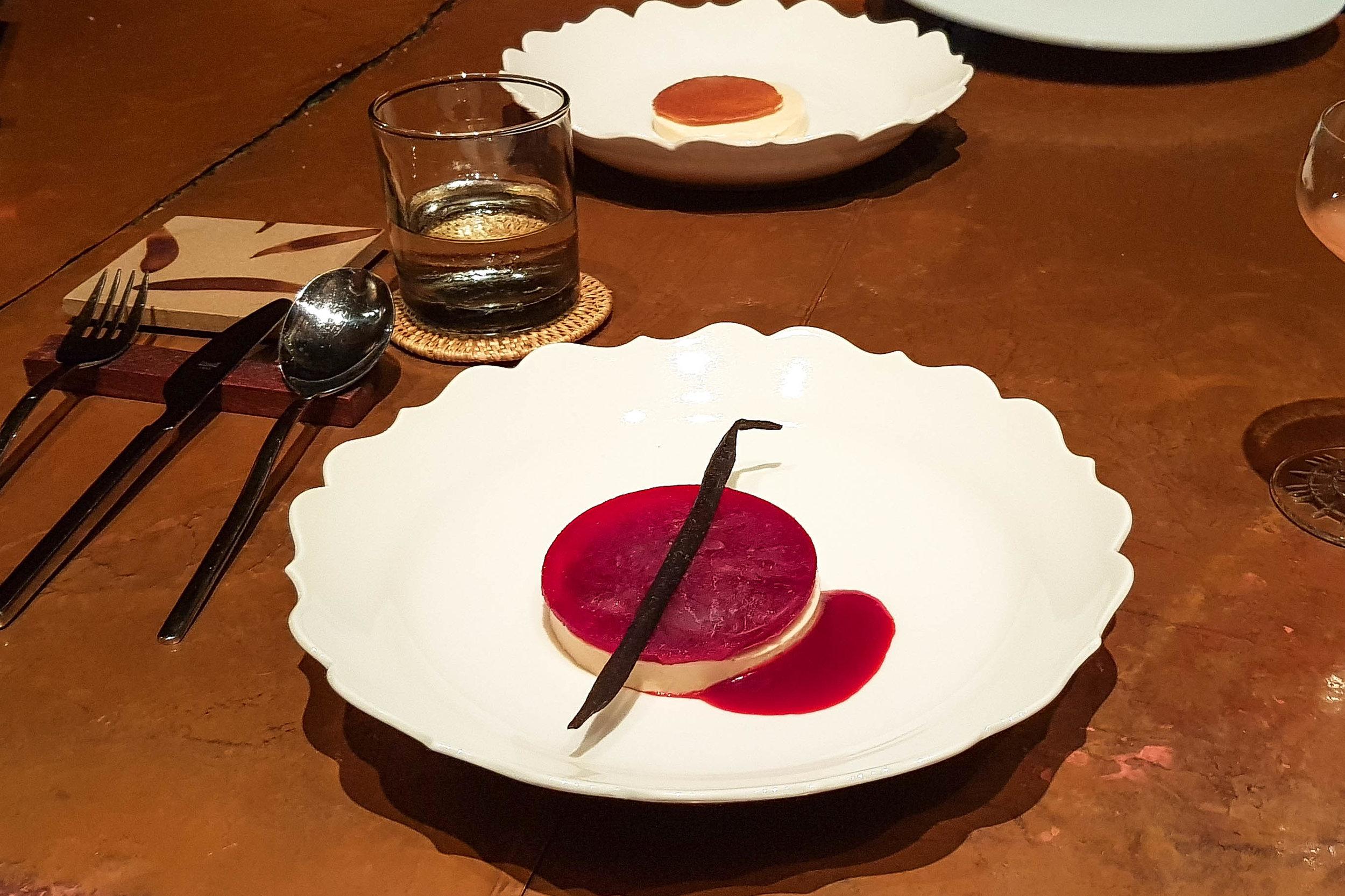 Planifoglia dish at Room 4 Dessert