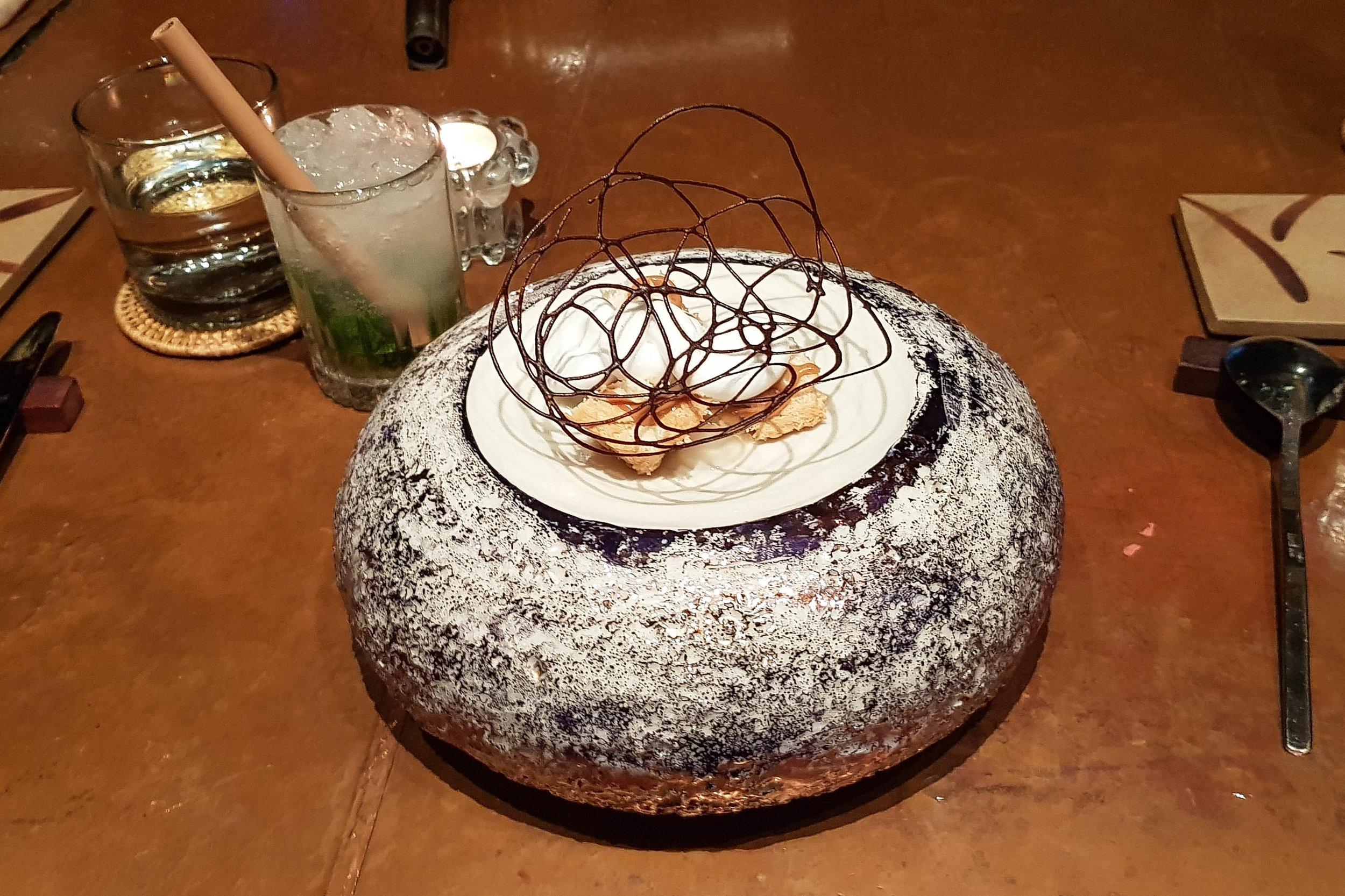 Incidente Stradale dish at Room 4 Dessert