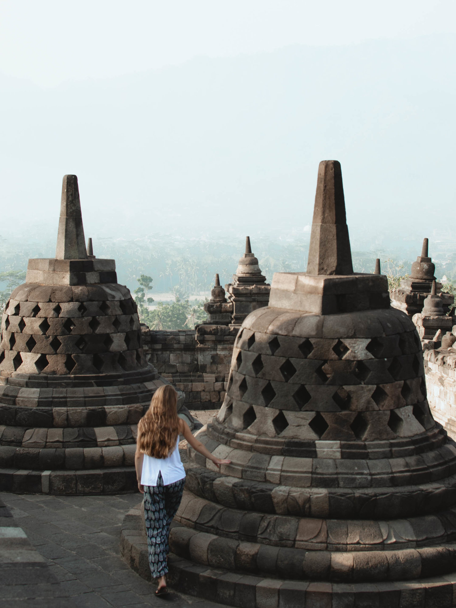 In September, 2018 I visited Borobudur in Indonesia