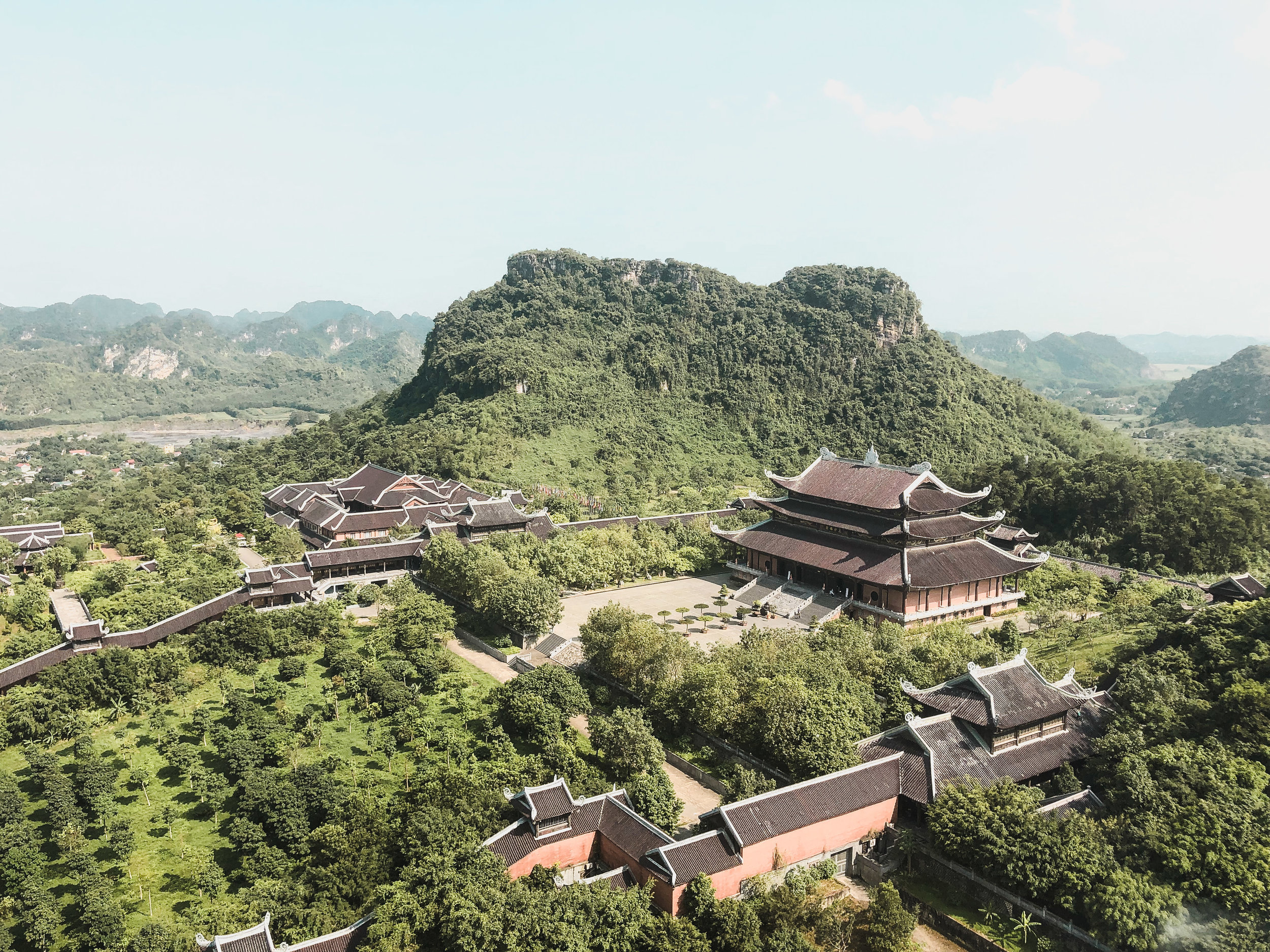 Bai Dinh Temple near Ninh Binh