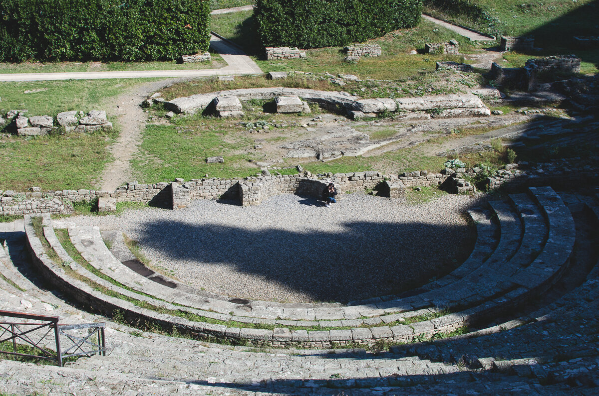 Ancient Roman Theater in Fiesole