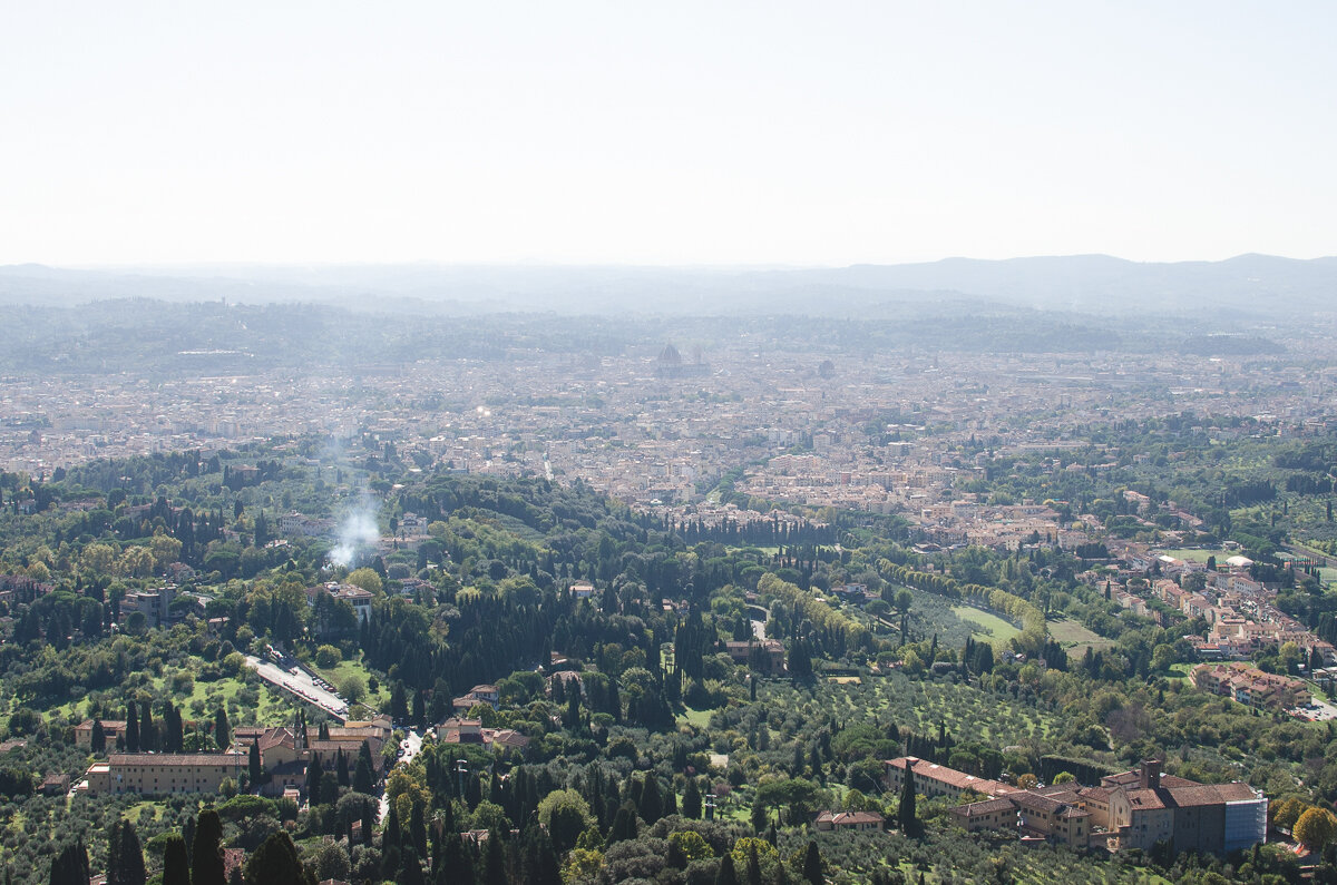 View of Florence from Fiesole