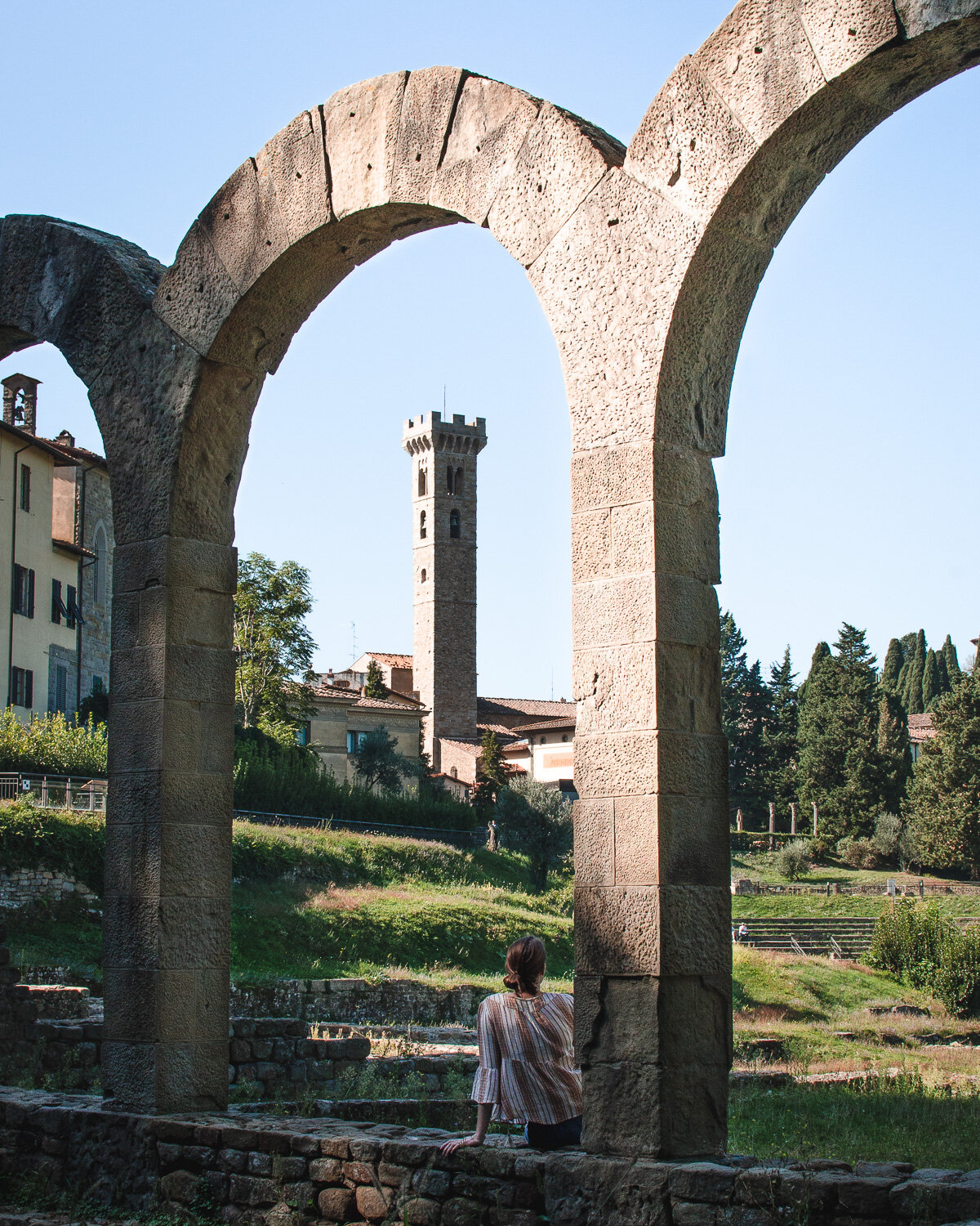 A travel guide for a Fiesole day trip