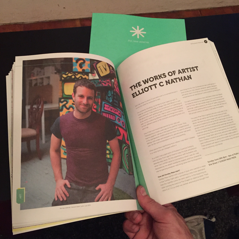 New Asterisk Magazine interview