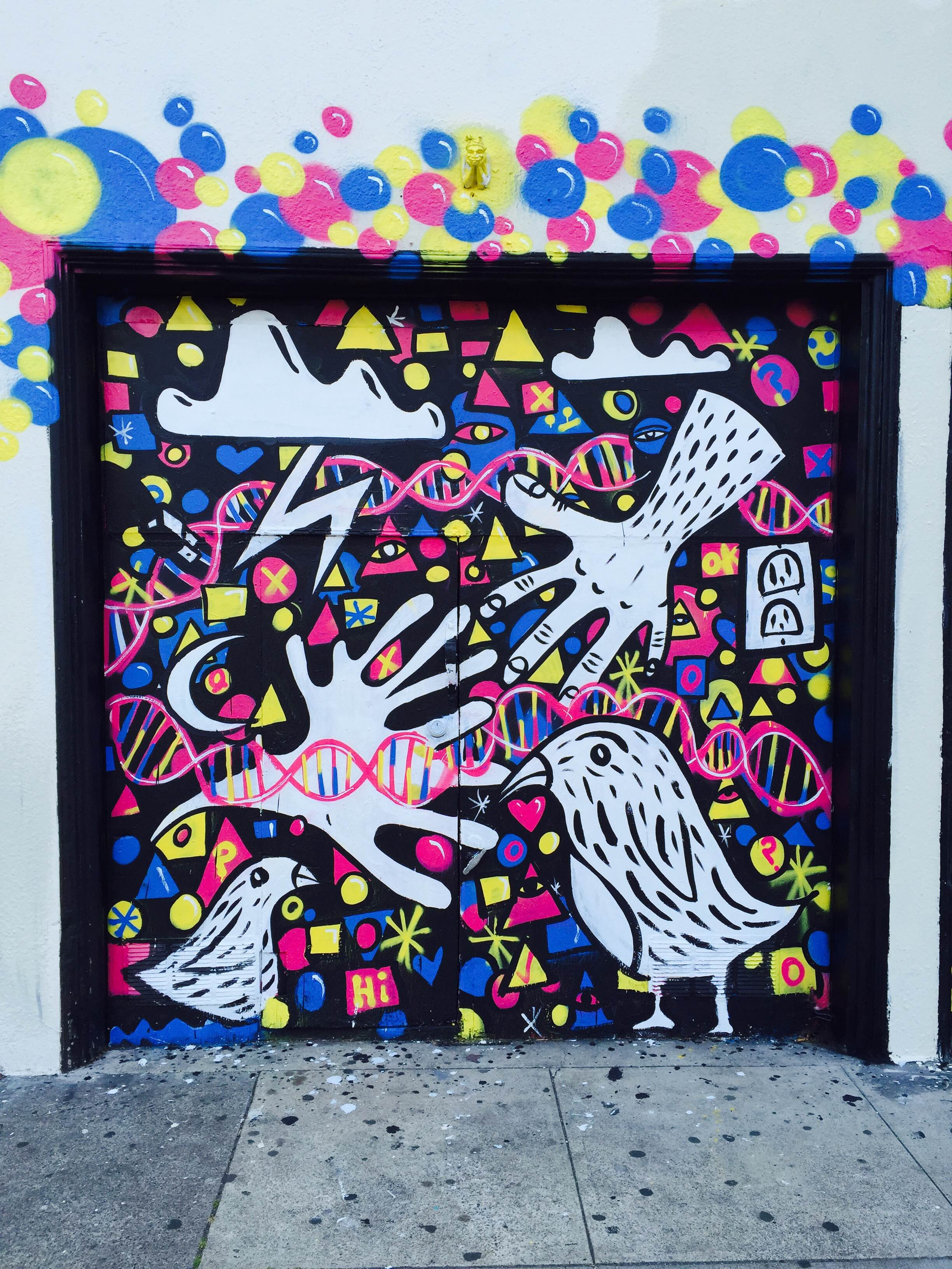 Bartlett mural panel 1