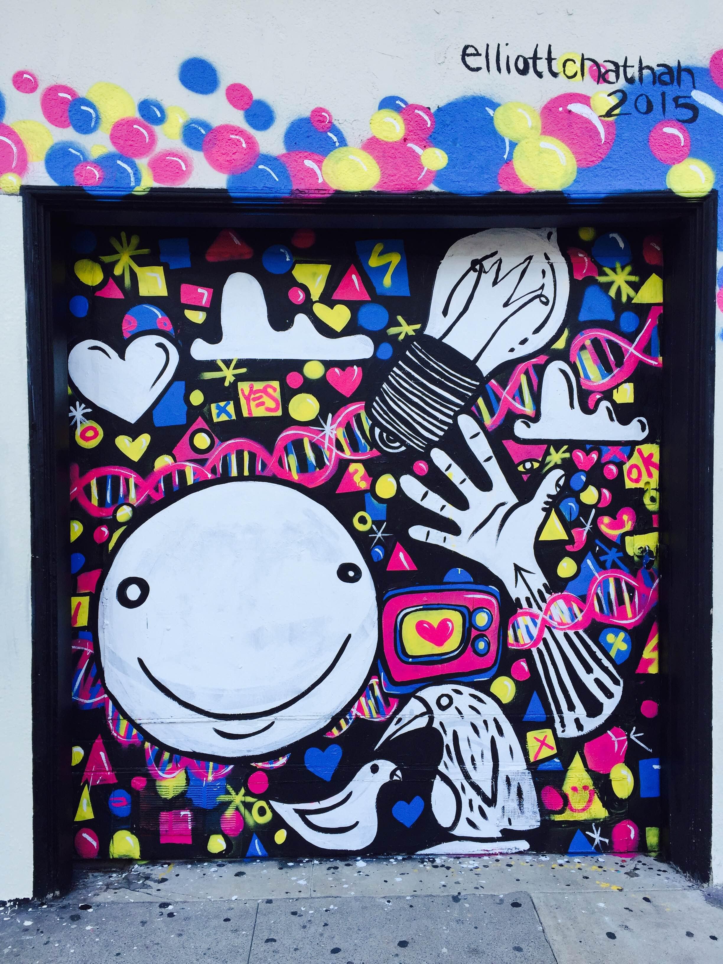 Bartlett mural panel 3