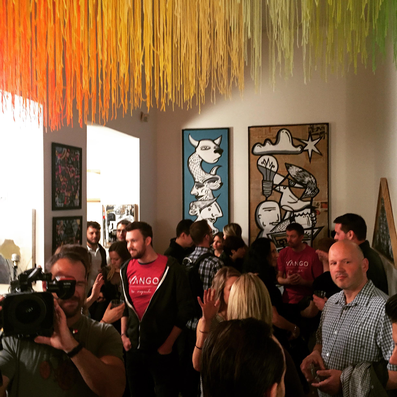 Vango Art Opening