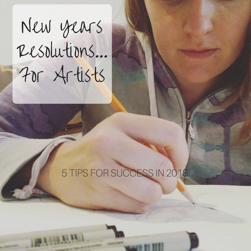 What are your artist goals for 2018?