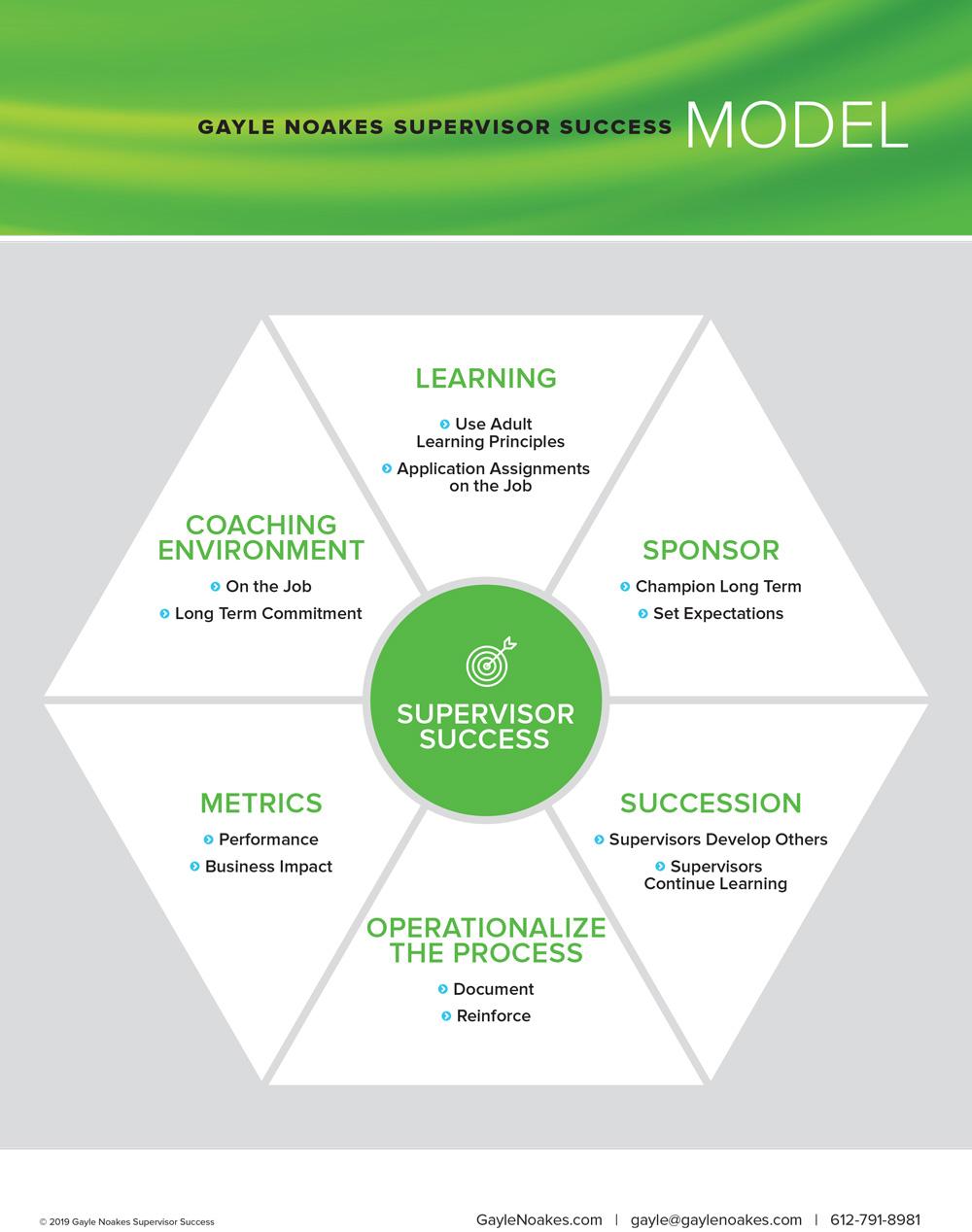 Supervisor Success Model