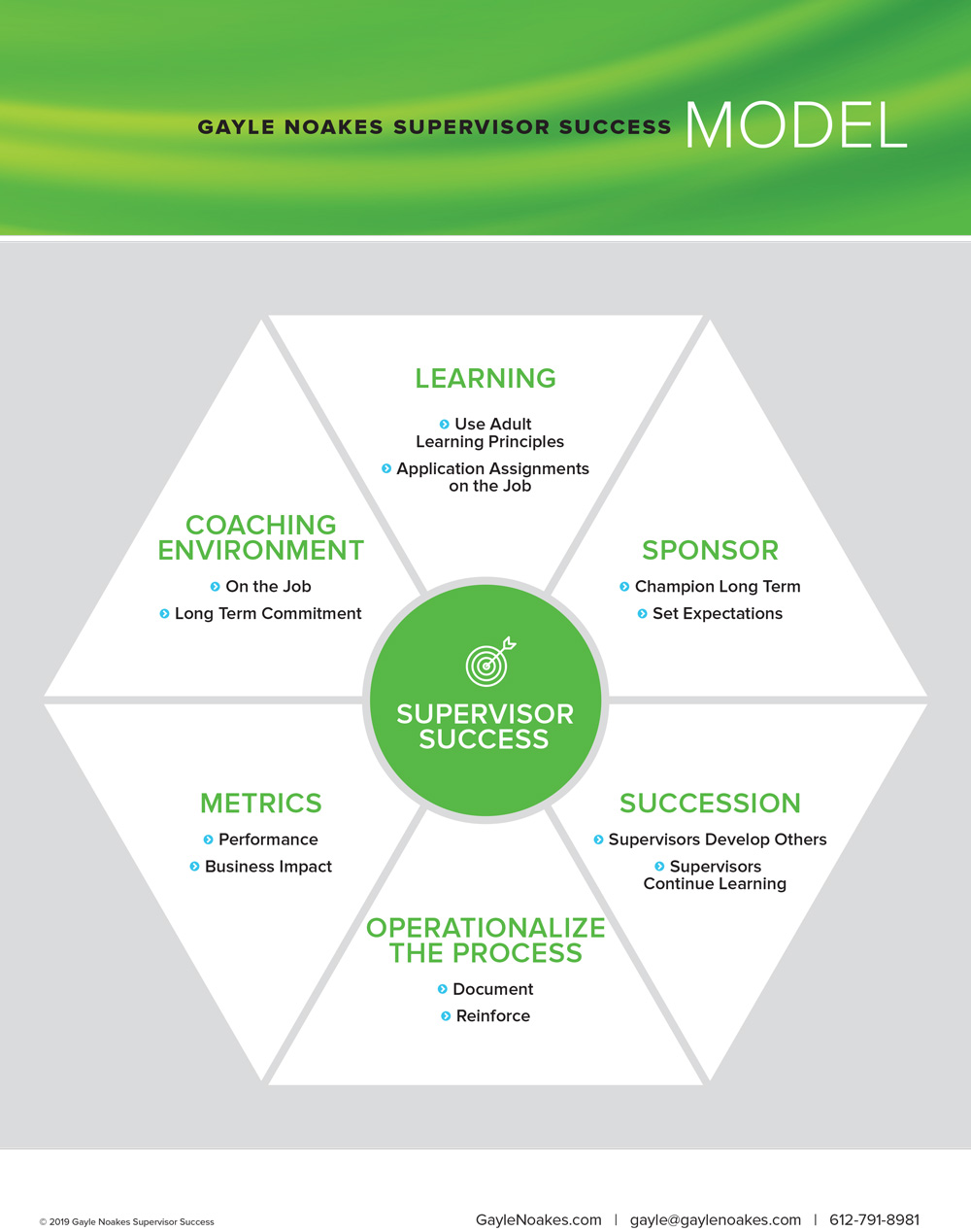 Supervisor Success Model