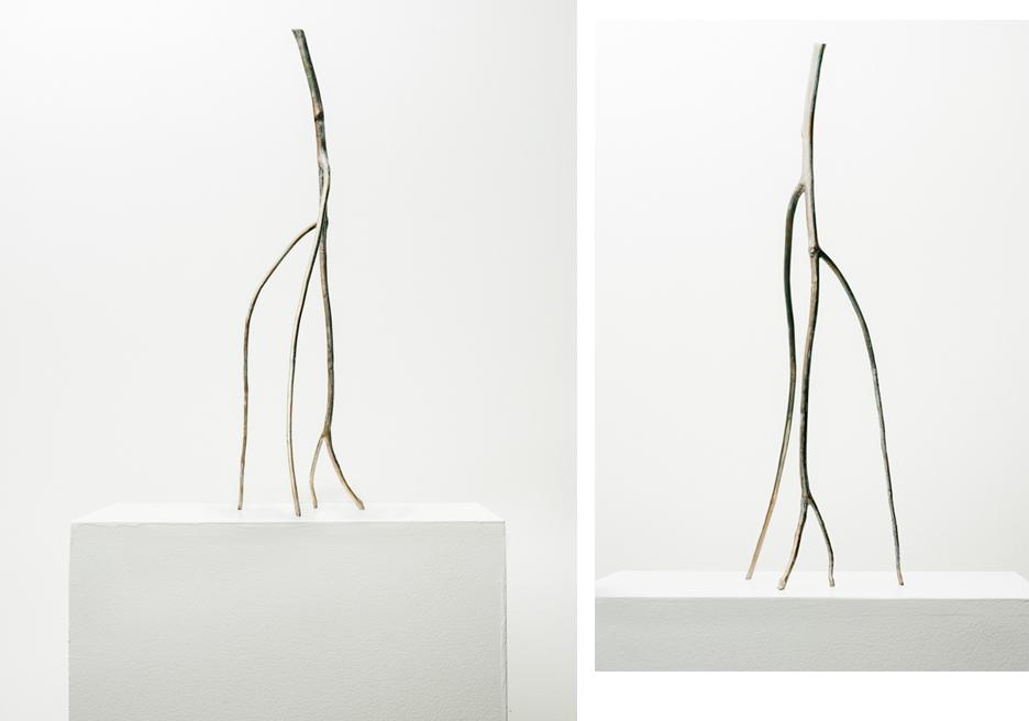 Stick #04, 2019, Bronze, 19.75x7x6in