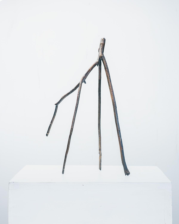 Stick #01, 2019, Bronze, 6x10x16in