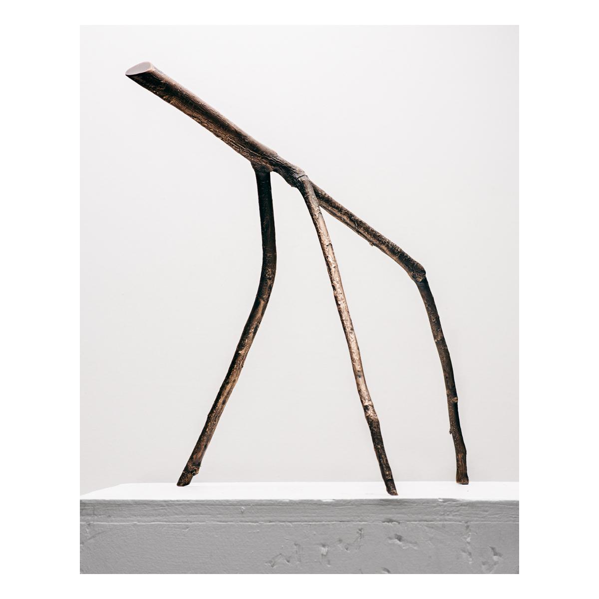 Stick 10, Bronze, 2019, 12x14x14in