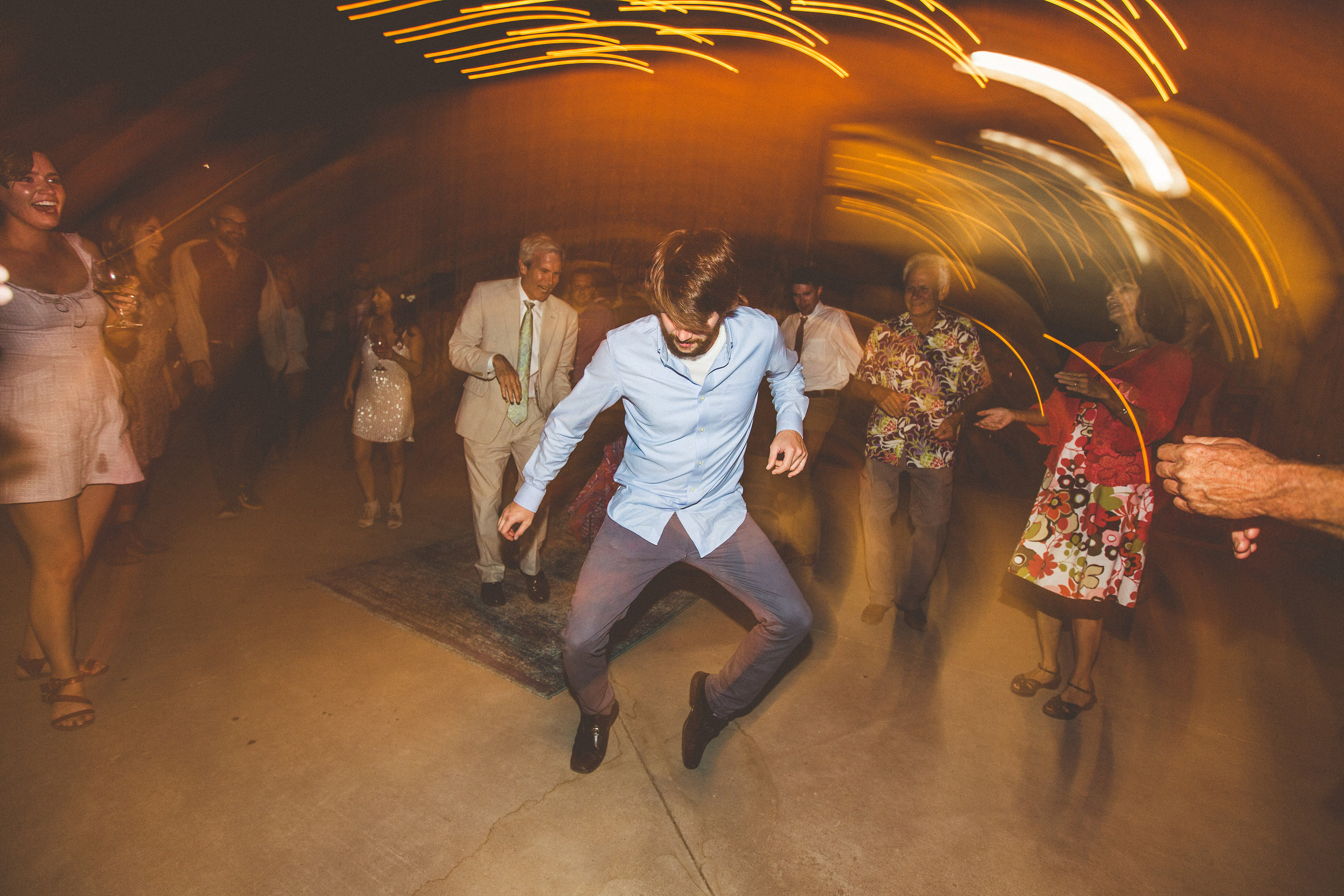 guests really started groovin' once the DJ took over for the evening... including the darling bride!
