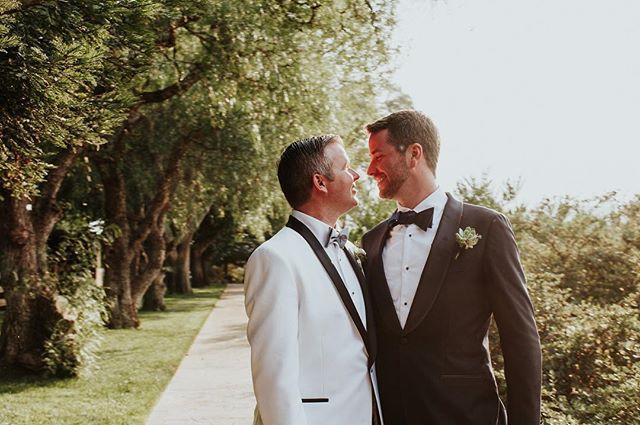 Happy 1st Anniversary Patrick & Evan!! 🎊 • • 📷// @thelittlealli