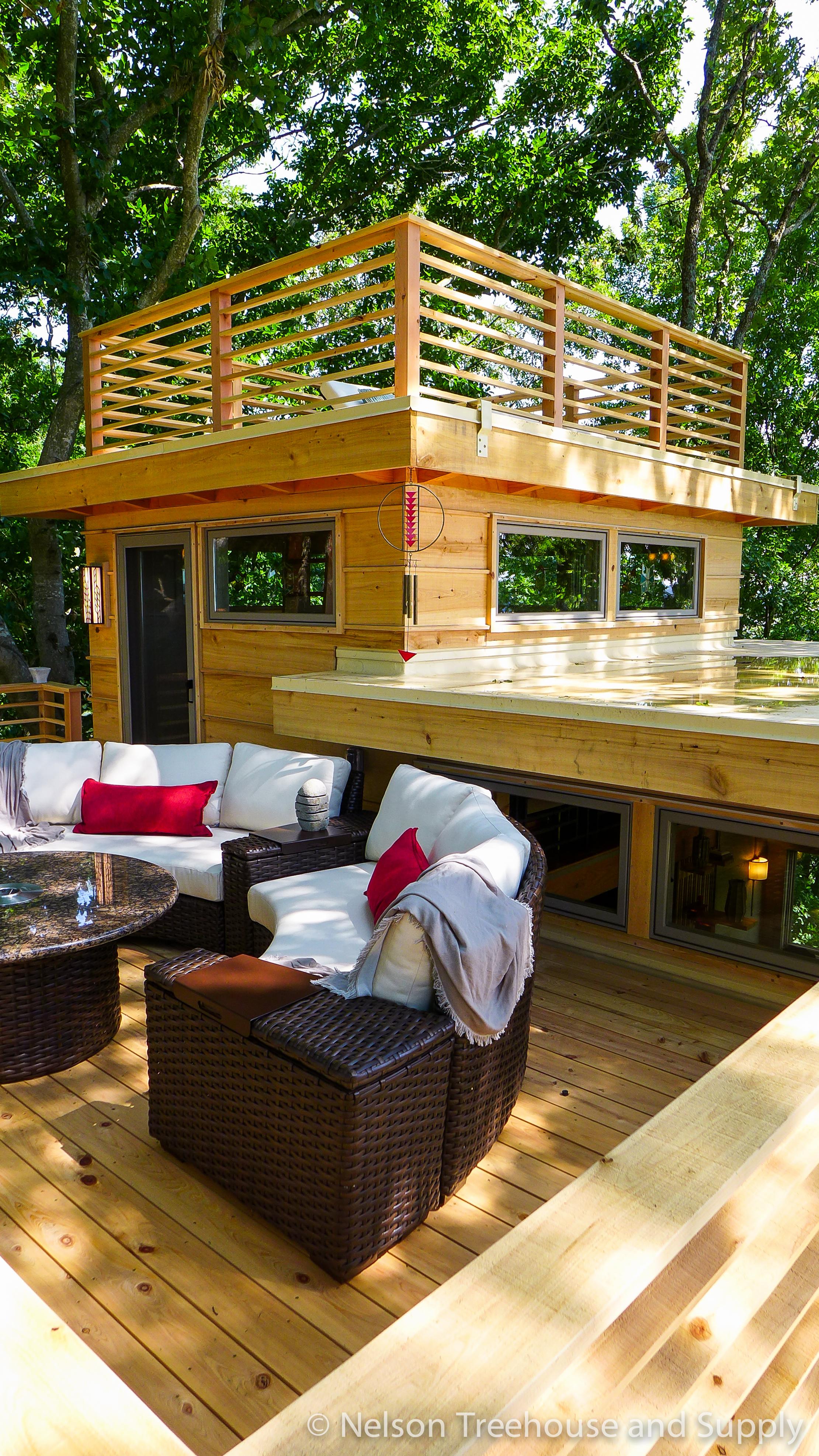 Tour Frank Lloyd Wright Lakeside Treehouse Nelson