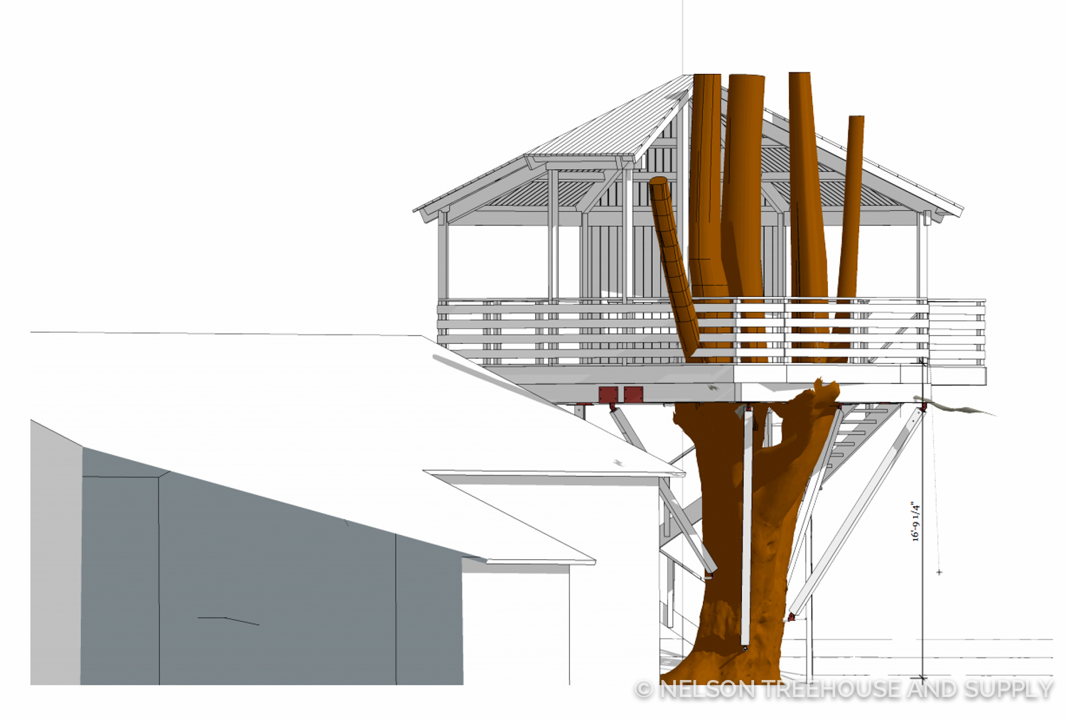 Step 3 of Treehouse Design