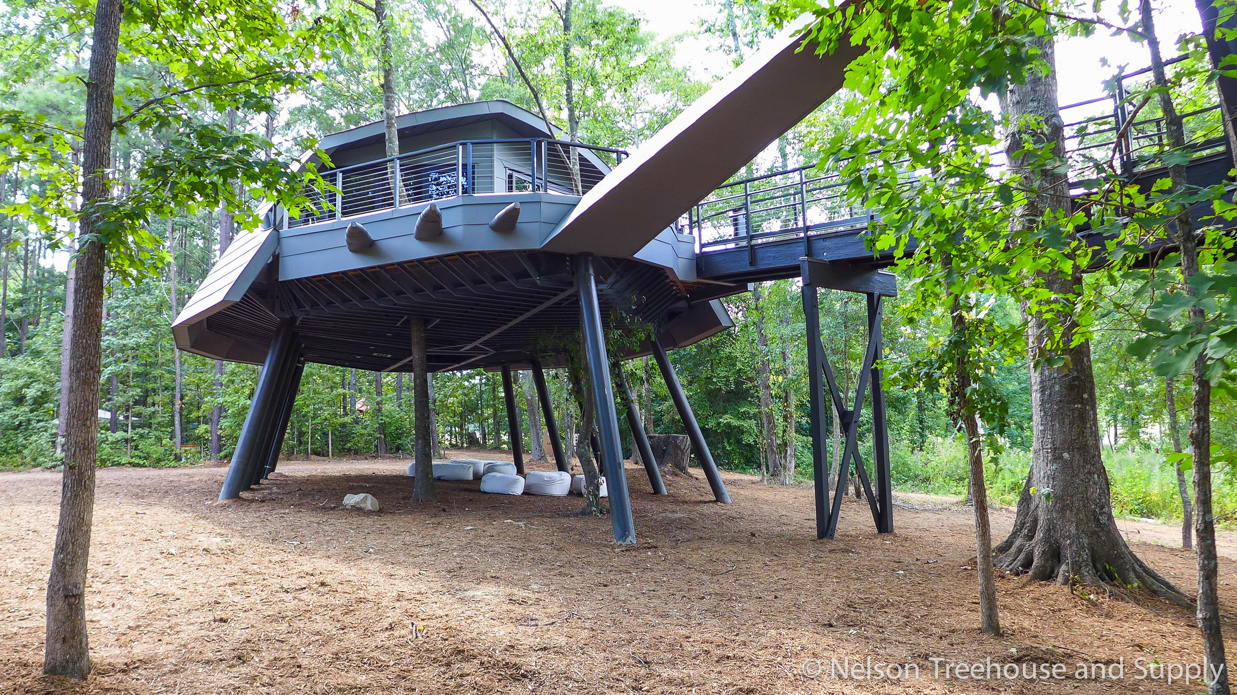 Zach Brown Space Crab Treehouse