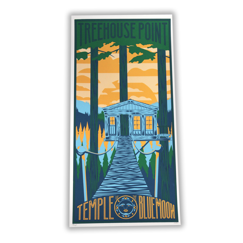 Temple of the Blue Moon Poster