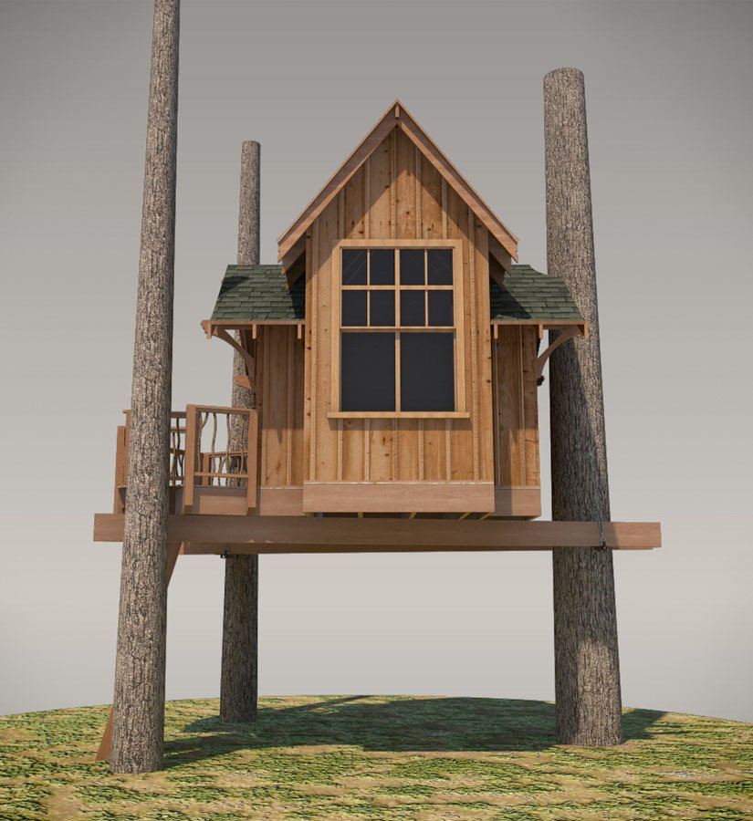 Fall City Treehouse Plan