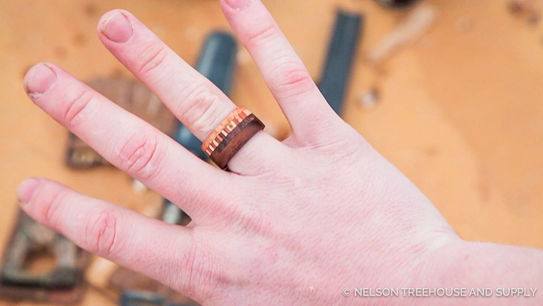 Wood Ring Step 12
