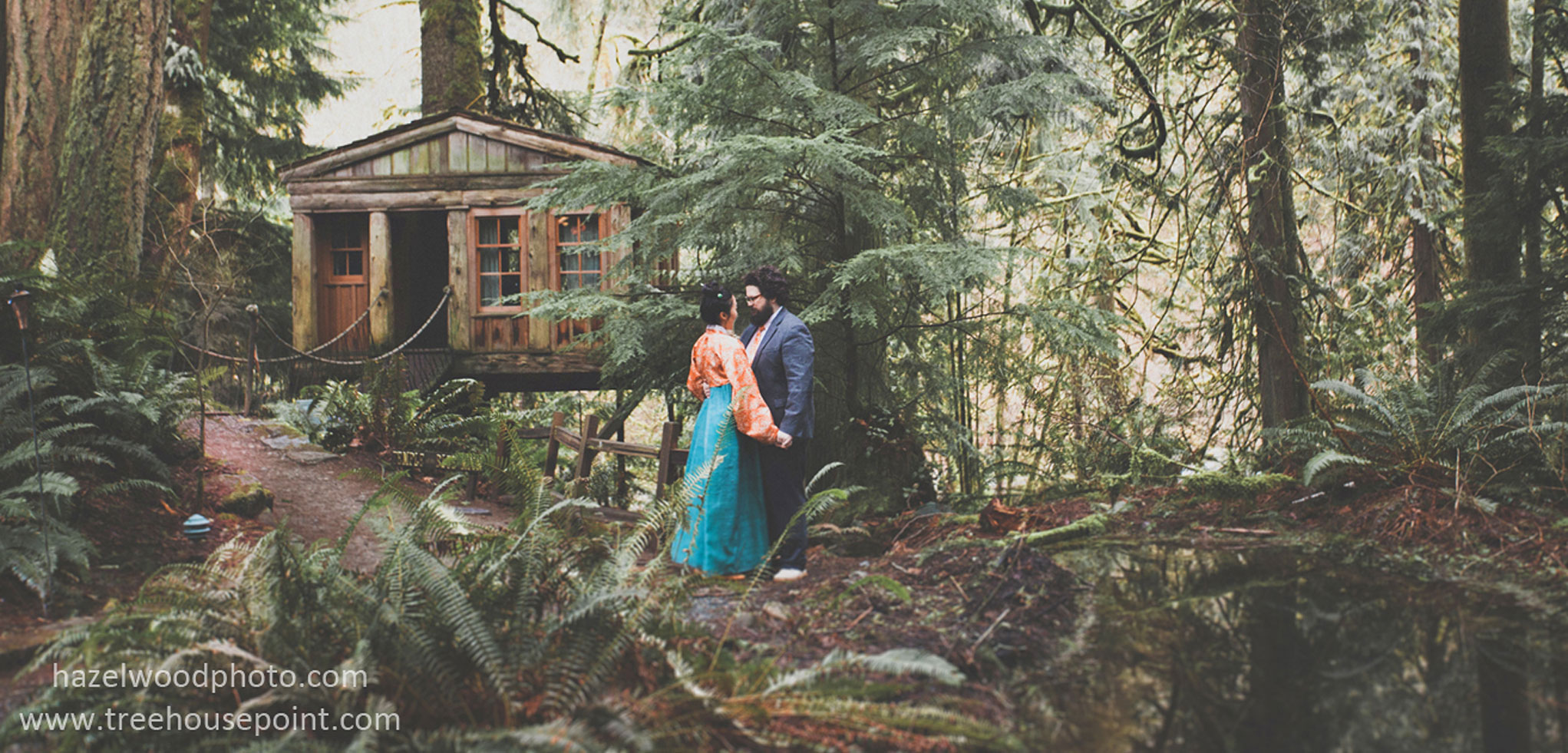 TreeHouse Point Wedding
