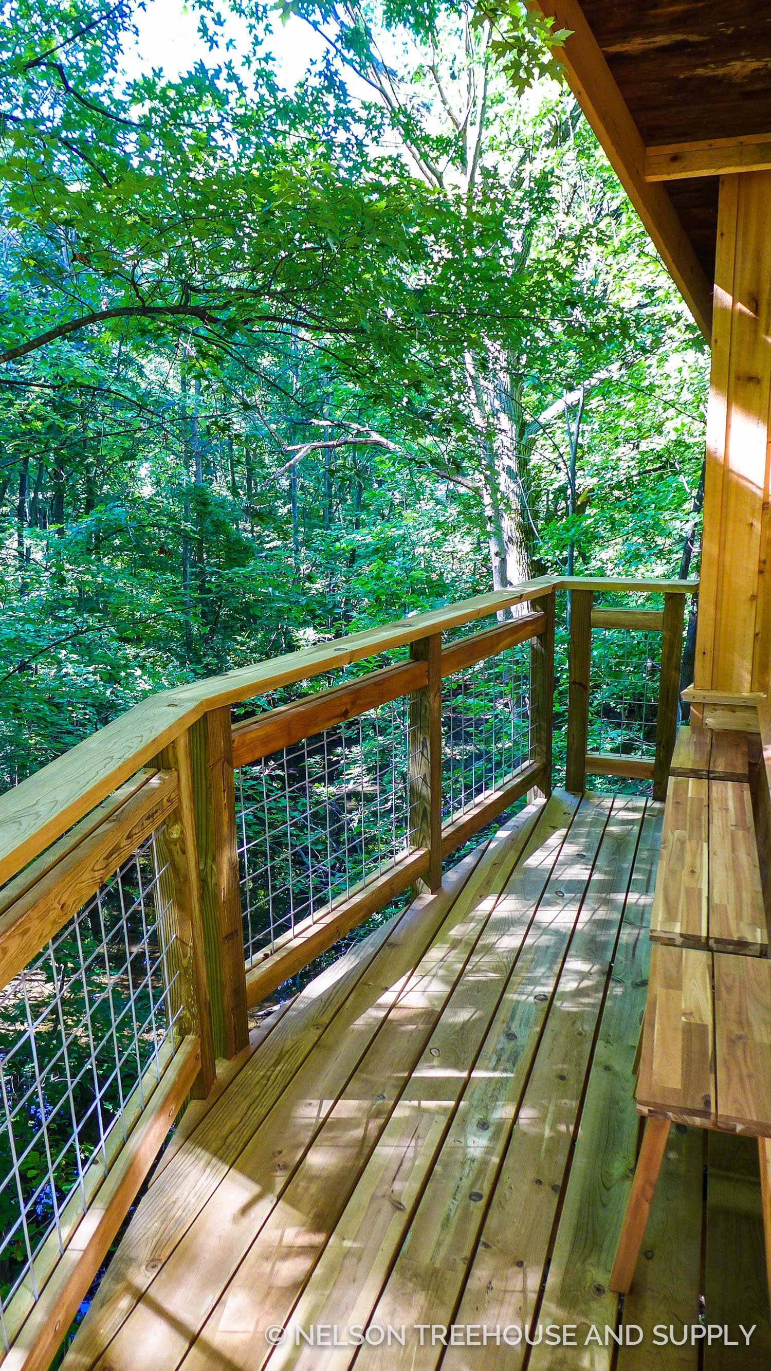 For-Mar Nature Preserve Treehouse