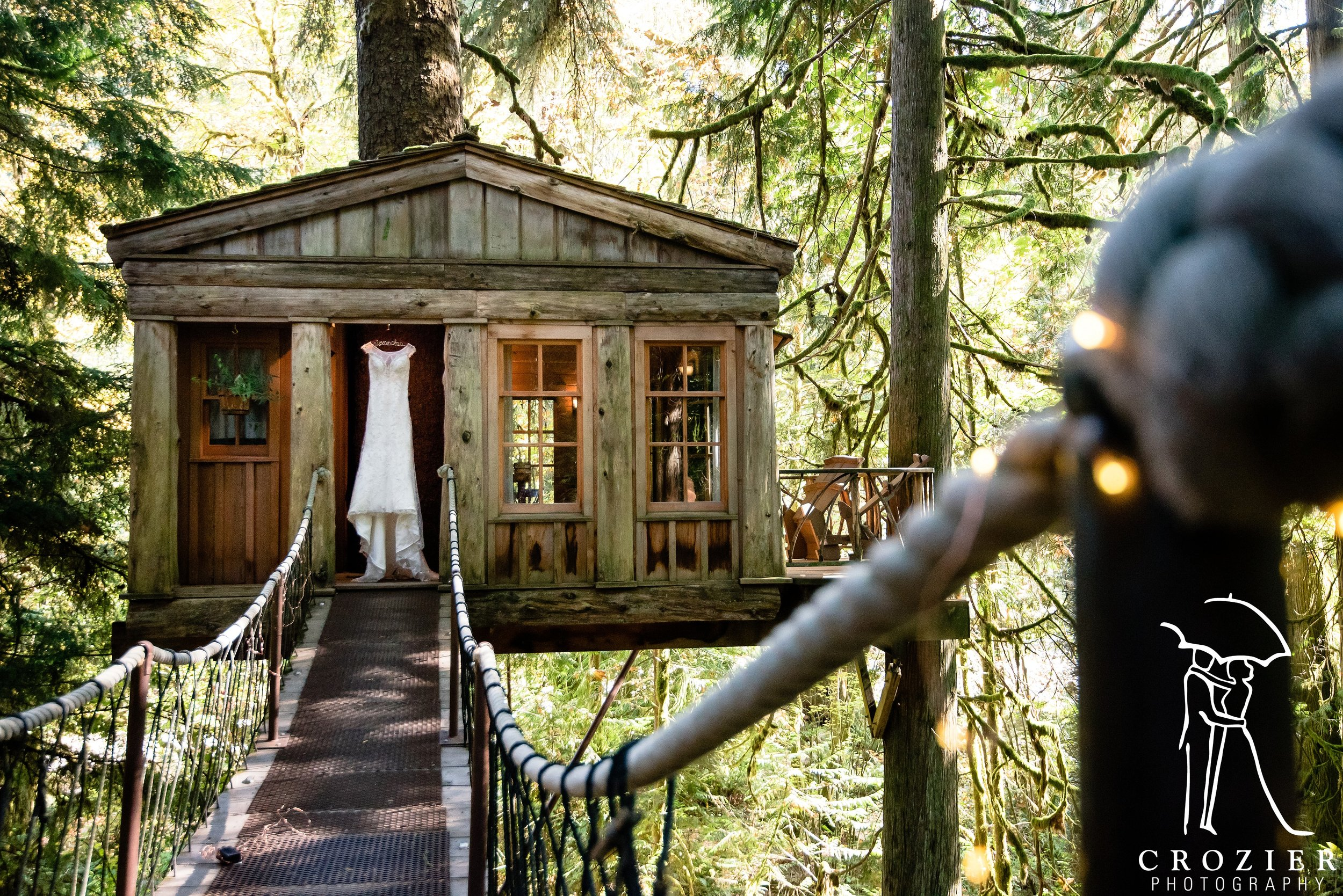 TreeHouse Point Wedding