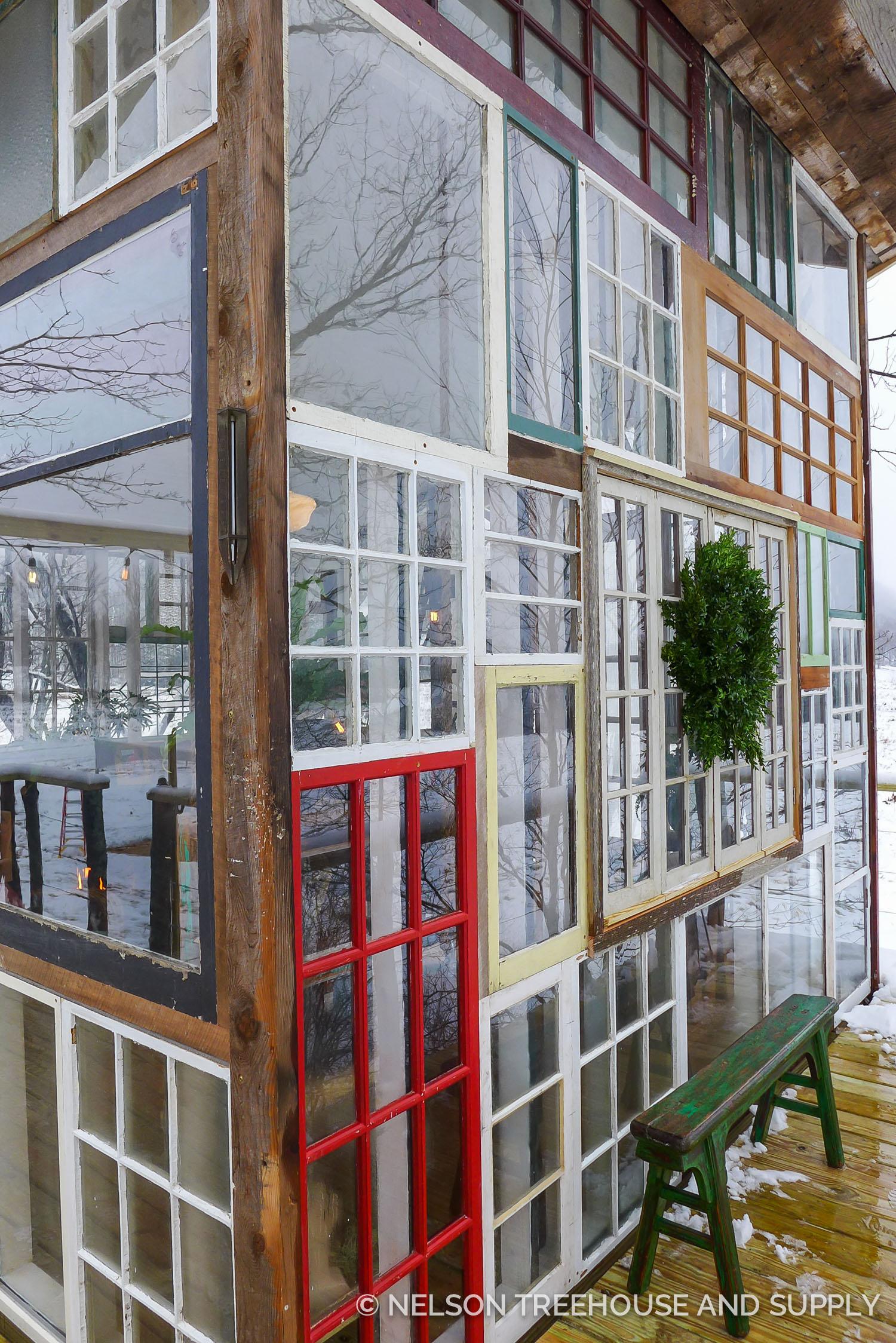 New York Glass Treehouse Nelson Treehouse