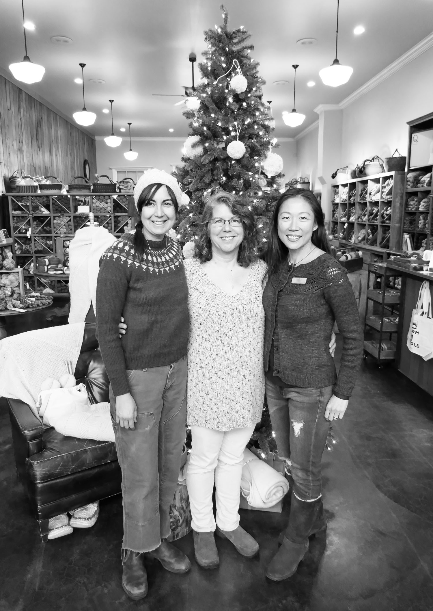ANna with two of her wonderful team members, Paula and Jenny.