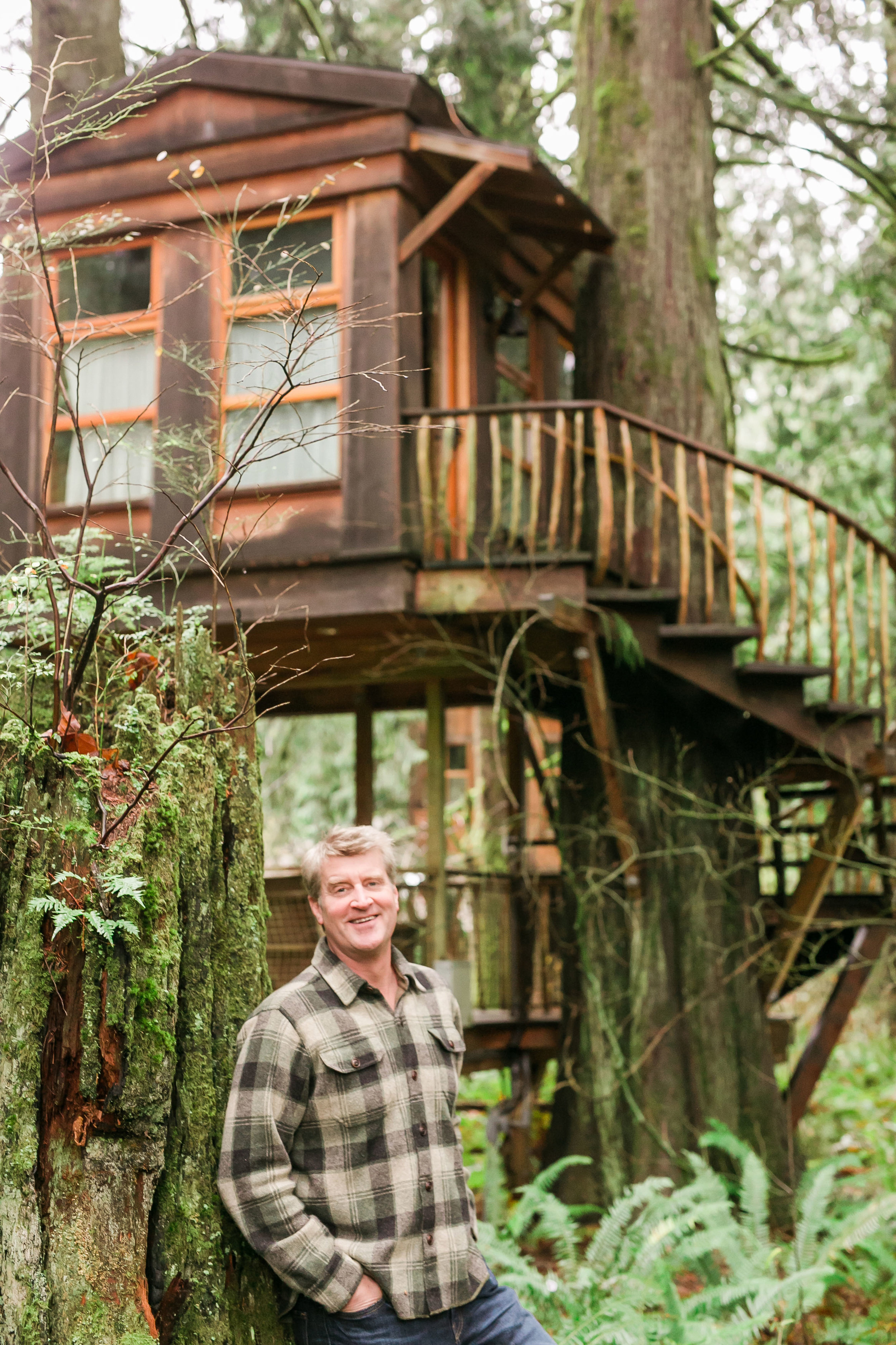 Pete Nelson Family Story Nelson Treehouse