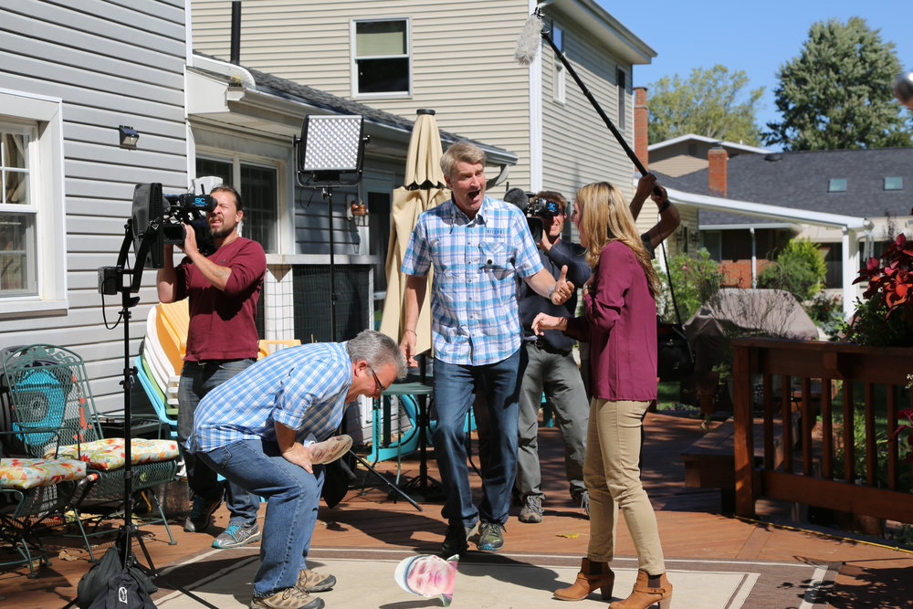 I had a great time filming this episode of  Treehouse Masters , when I surprised two families with Treehouse makeovers! Check out my behind-the-scenes tours of treehouses featured on  episodes of Treehouses masters here.