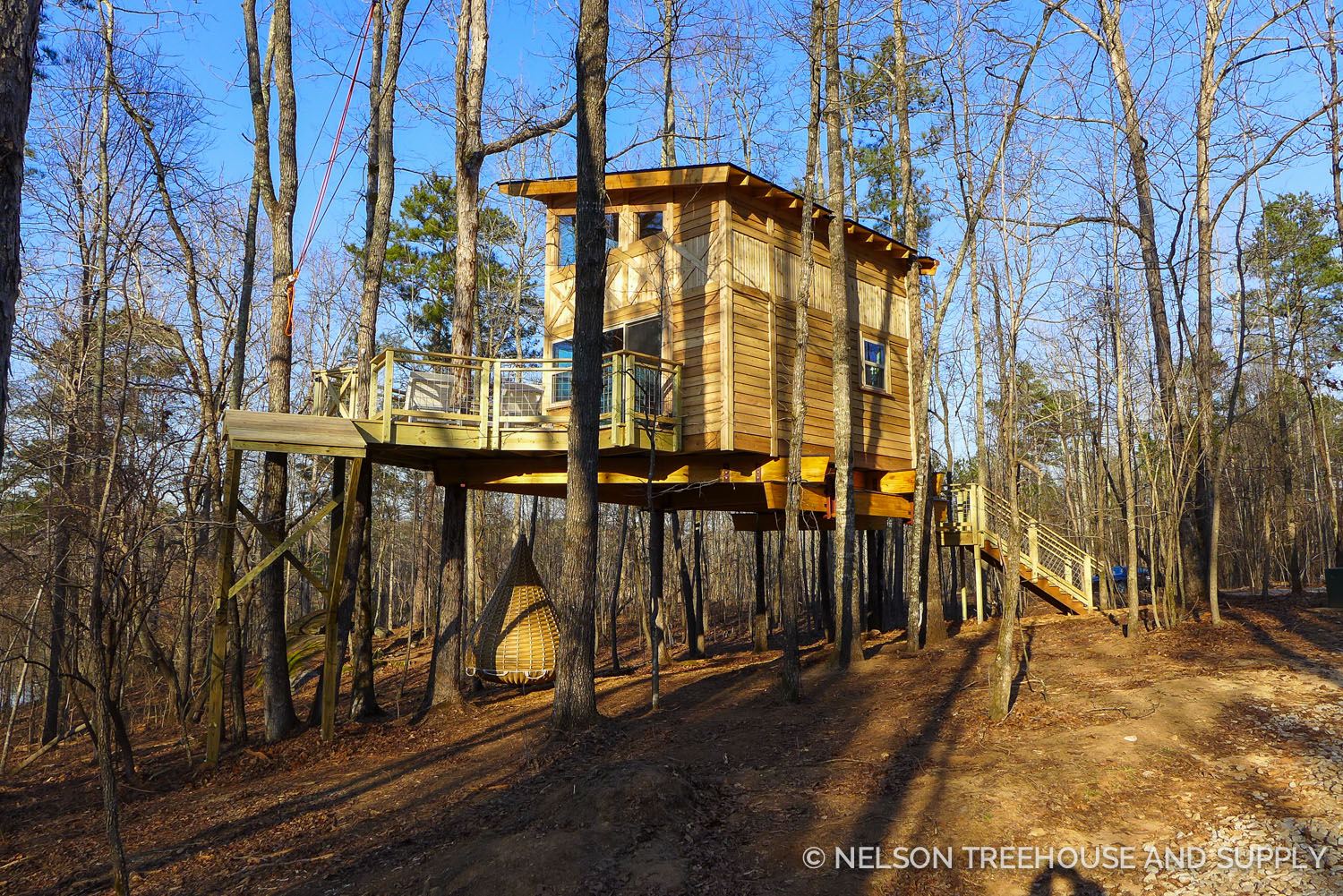 Treehousefriday Photo Tour Magical Modern Treehouse