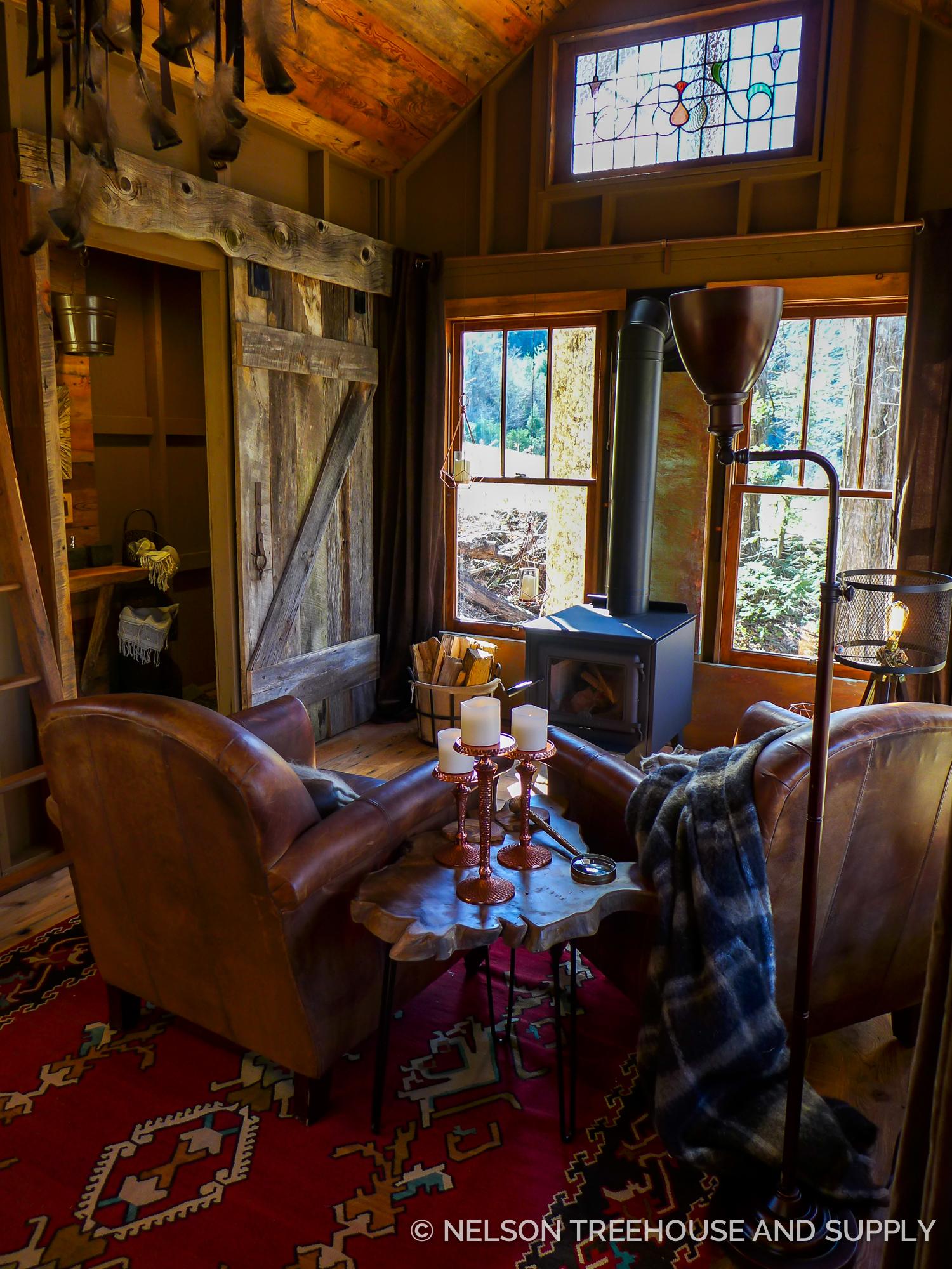 Blue Ridge Mountain Meditative Nelson Treehouse