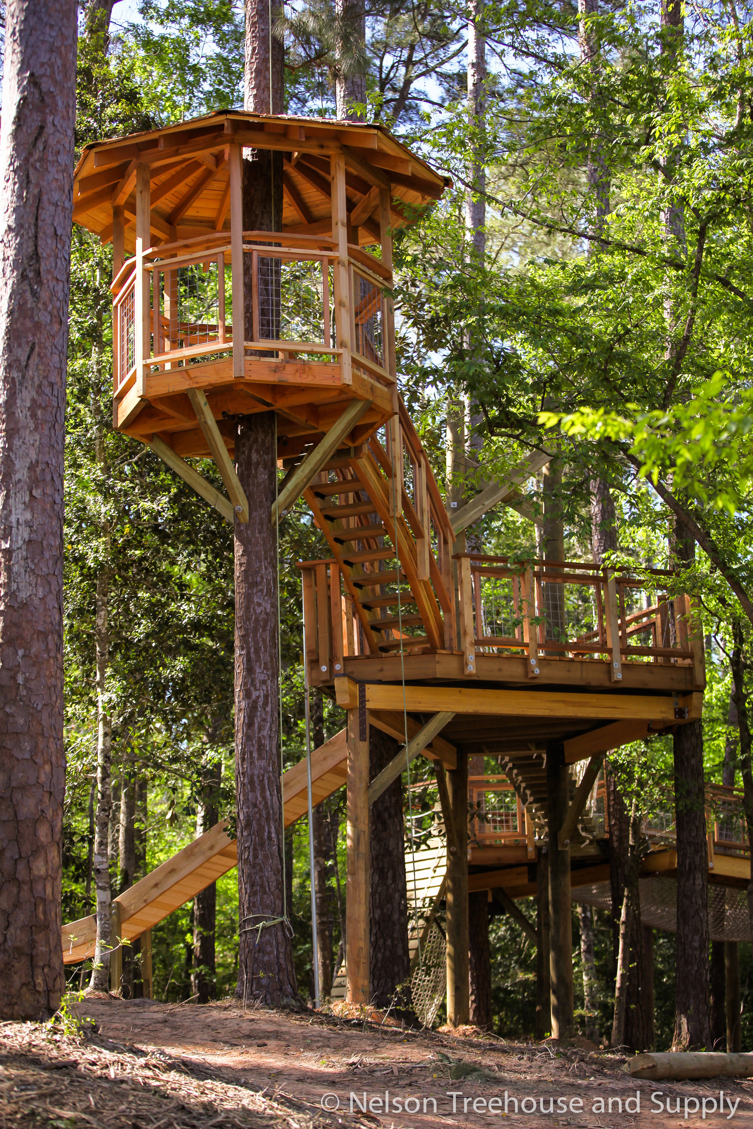 Cho Yeh summer camp treehouse