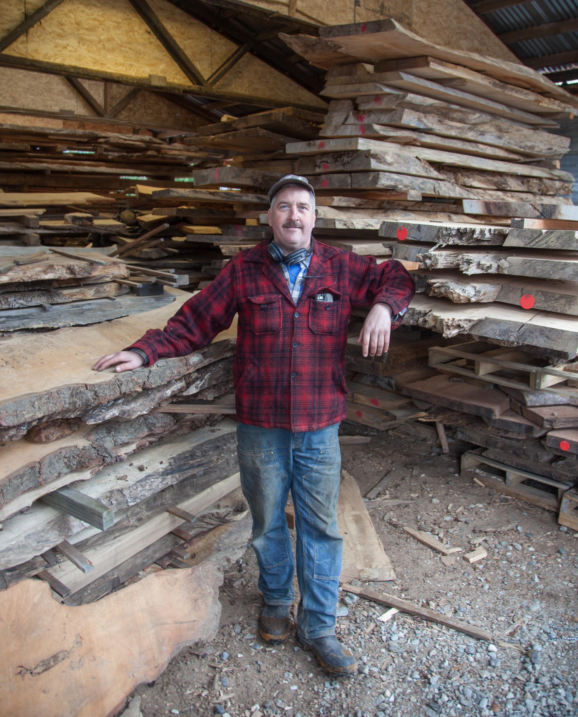 Bruce Blacker, Owner of Wild Edge Woods.