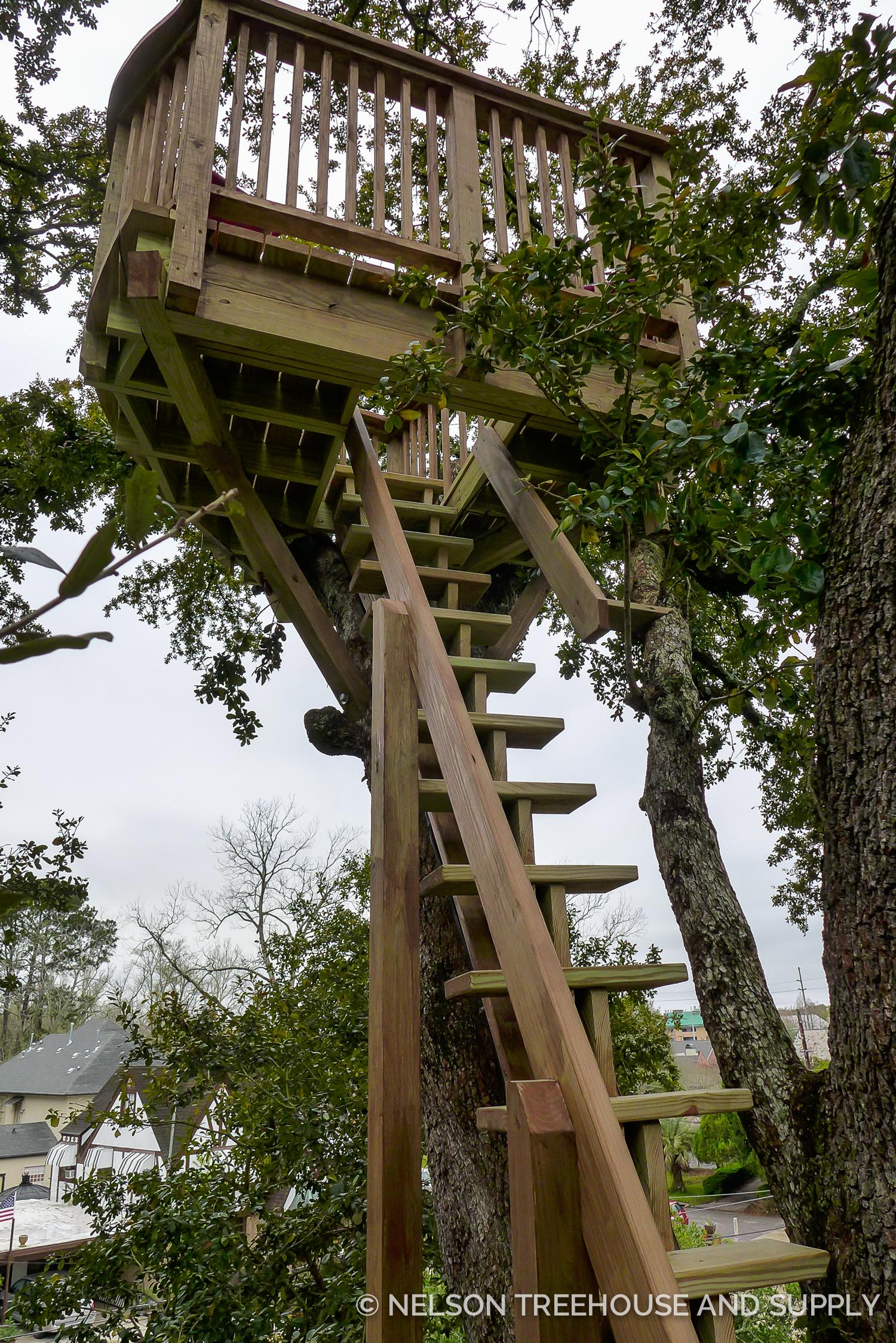 Triple Decker Record Setter Treehouse